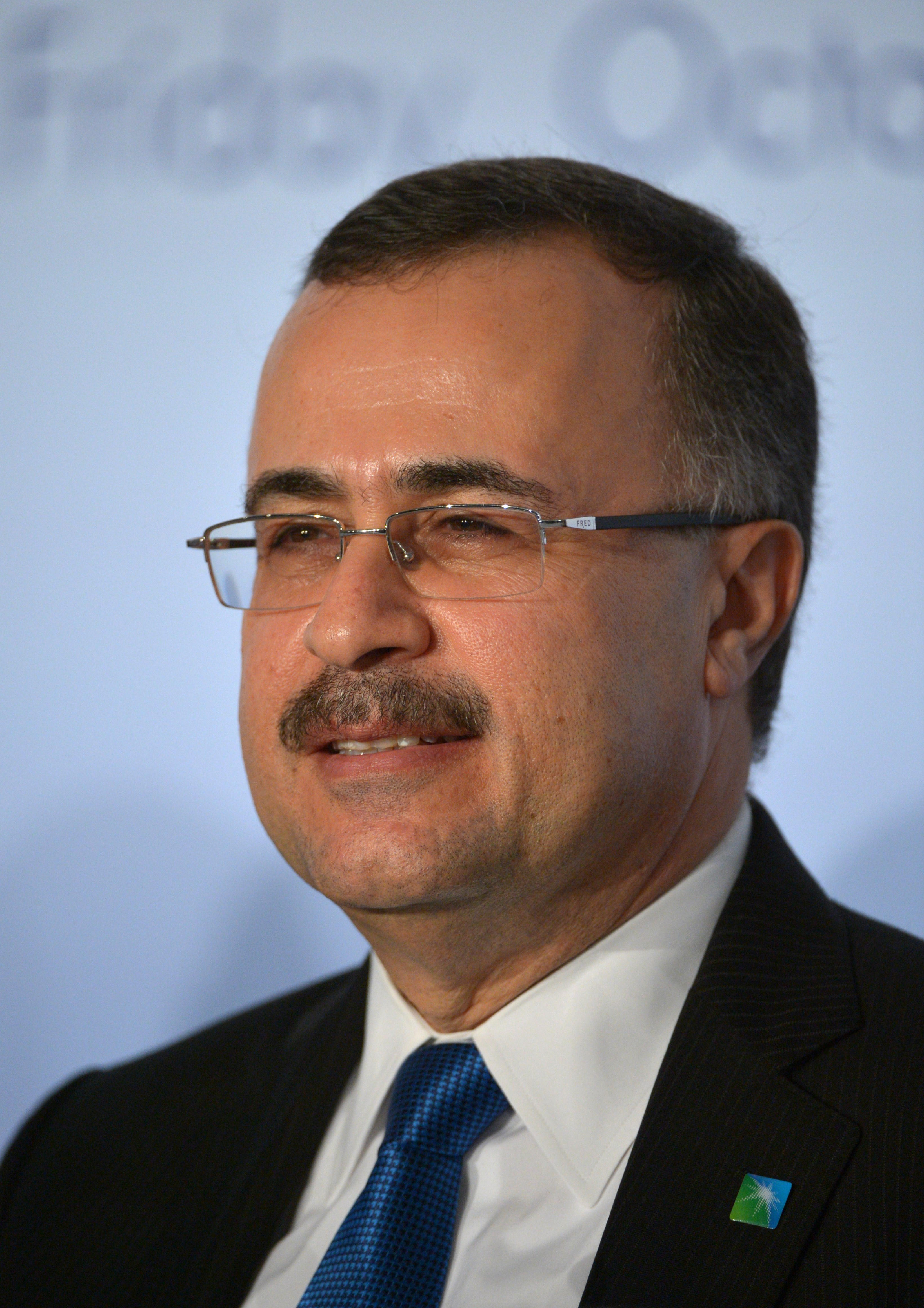 Saudi Aramco CEO Amin Nasser at a meeting of the Oil and Gas Climate Initiative (OGCI) in Paris on Oct. 16, 2015.