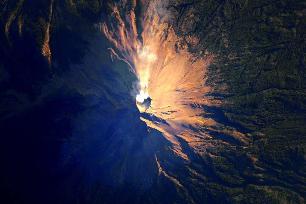 Advice from a #volcano: keep your inner fire burning. #YearInSpace  - via Twitter on Jan. 14, 2016