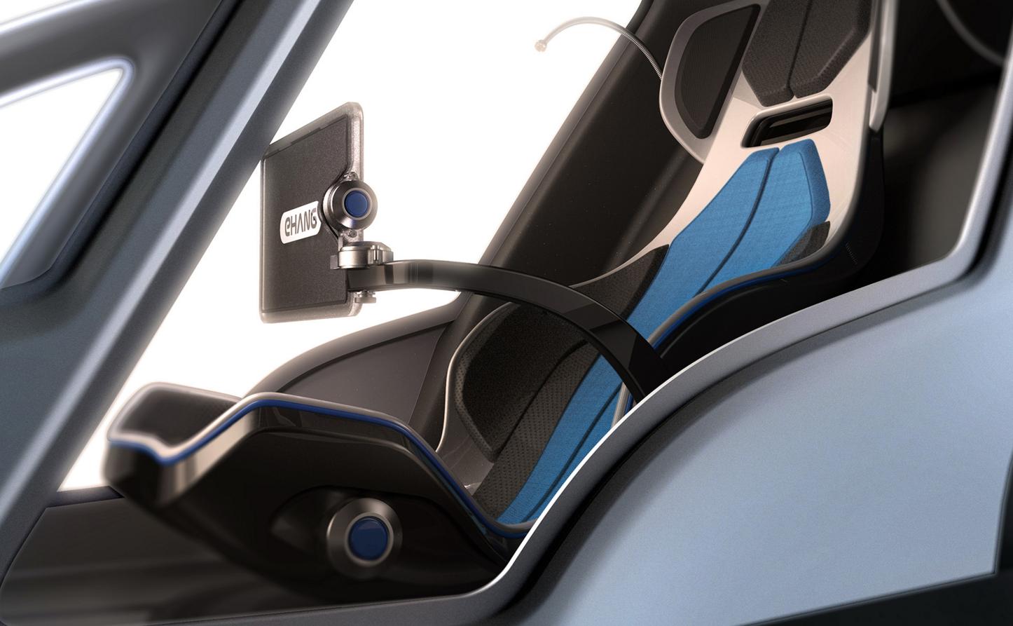 EHang 184 Cockpit