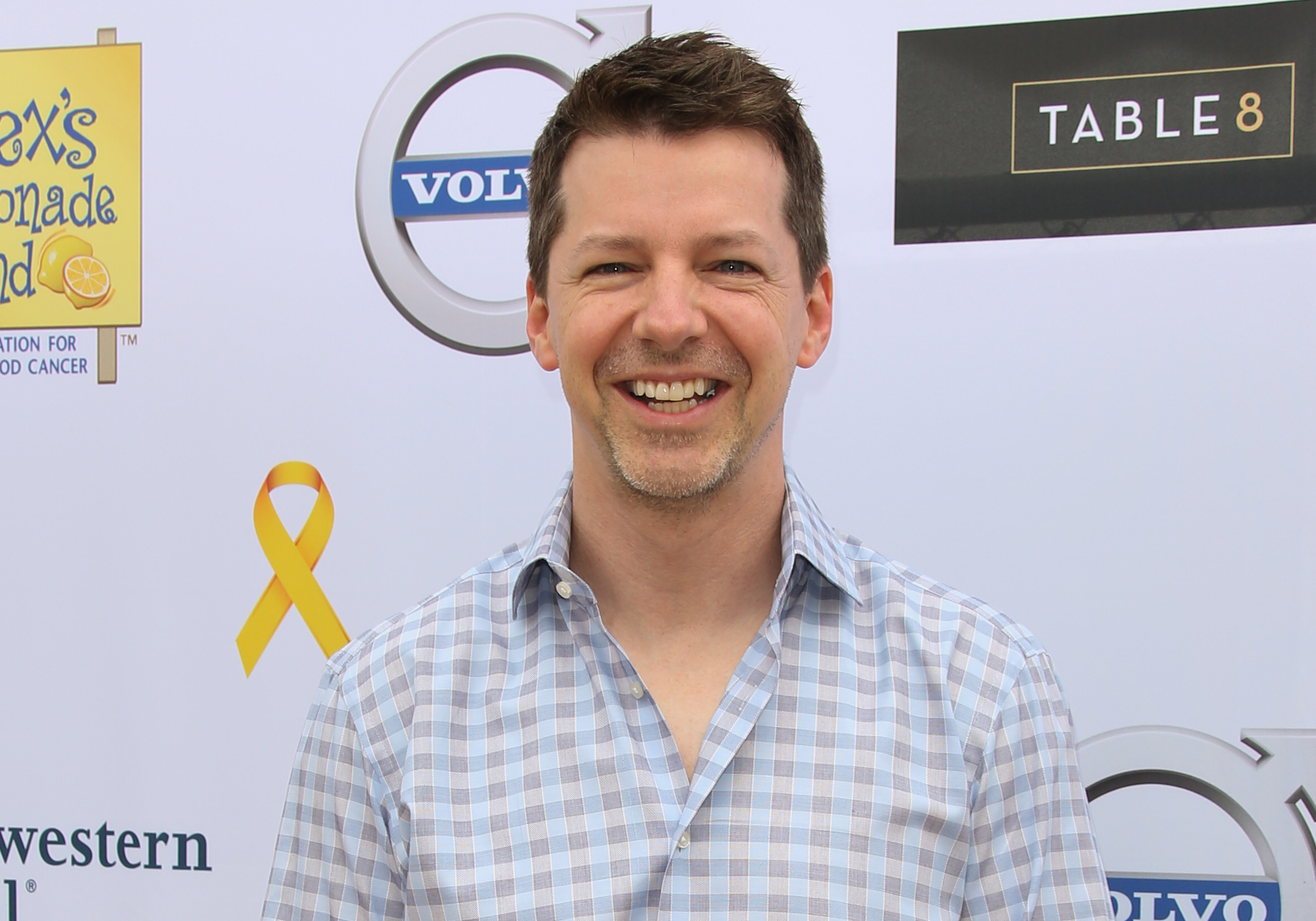 Actor Sean Hayes attends the 5th annual L.A. Loves Alex's Lemonade fundraiser at Wilson Plaza, at UCLA on September 20, 2014 in Westwood, California.