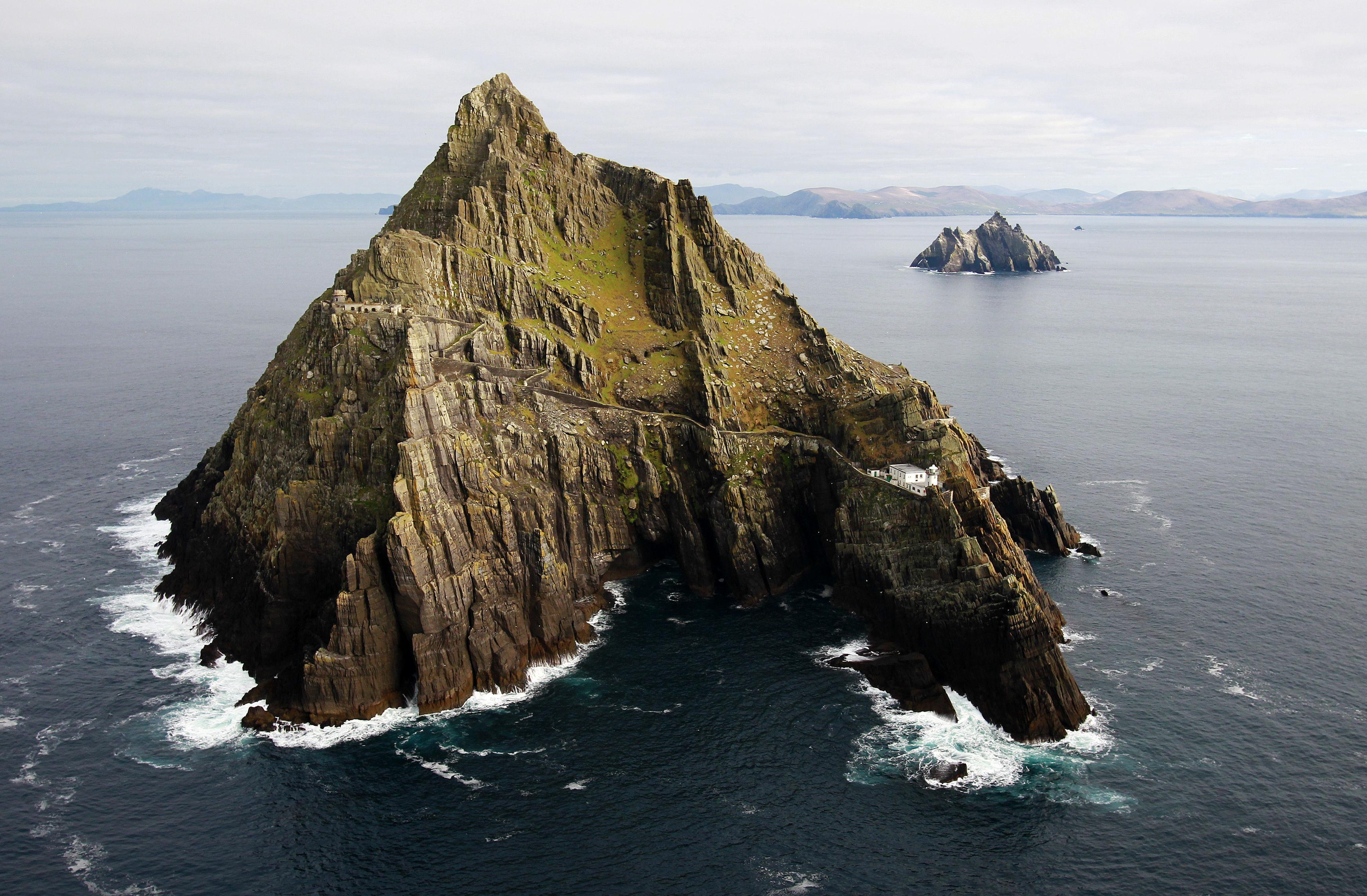 The Skellig Islands.
