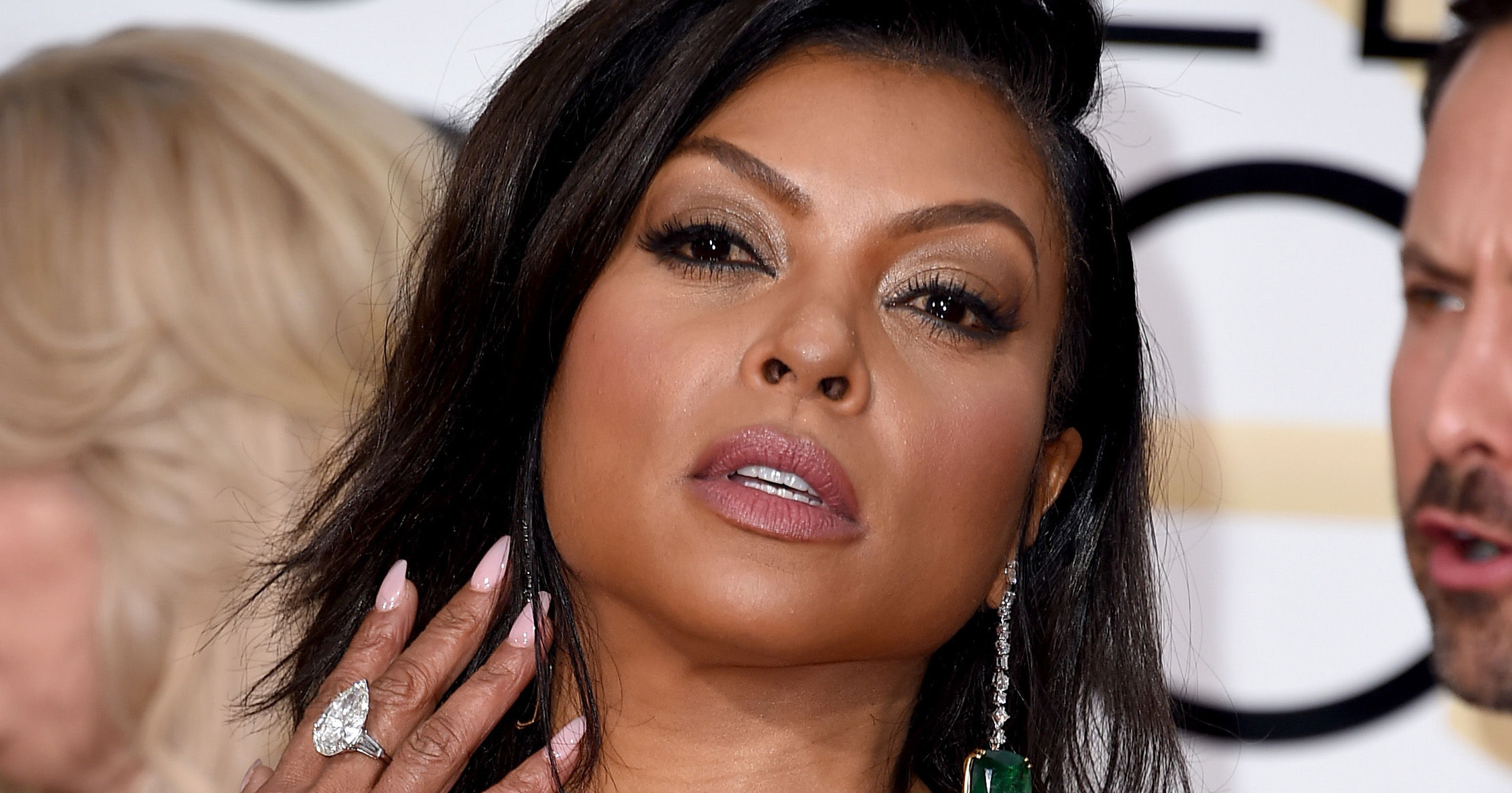 Taraji P. Henson attends the 73rd Annual Golden Globe Awards on Jan. 10, 2016 in Beverly Hills.