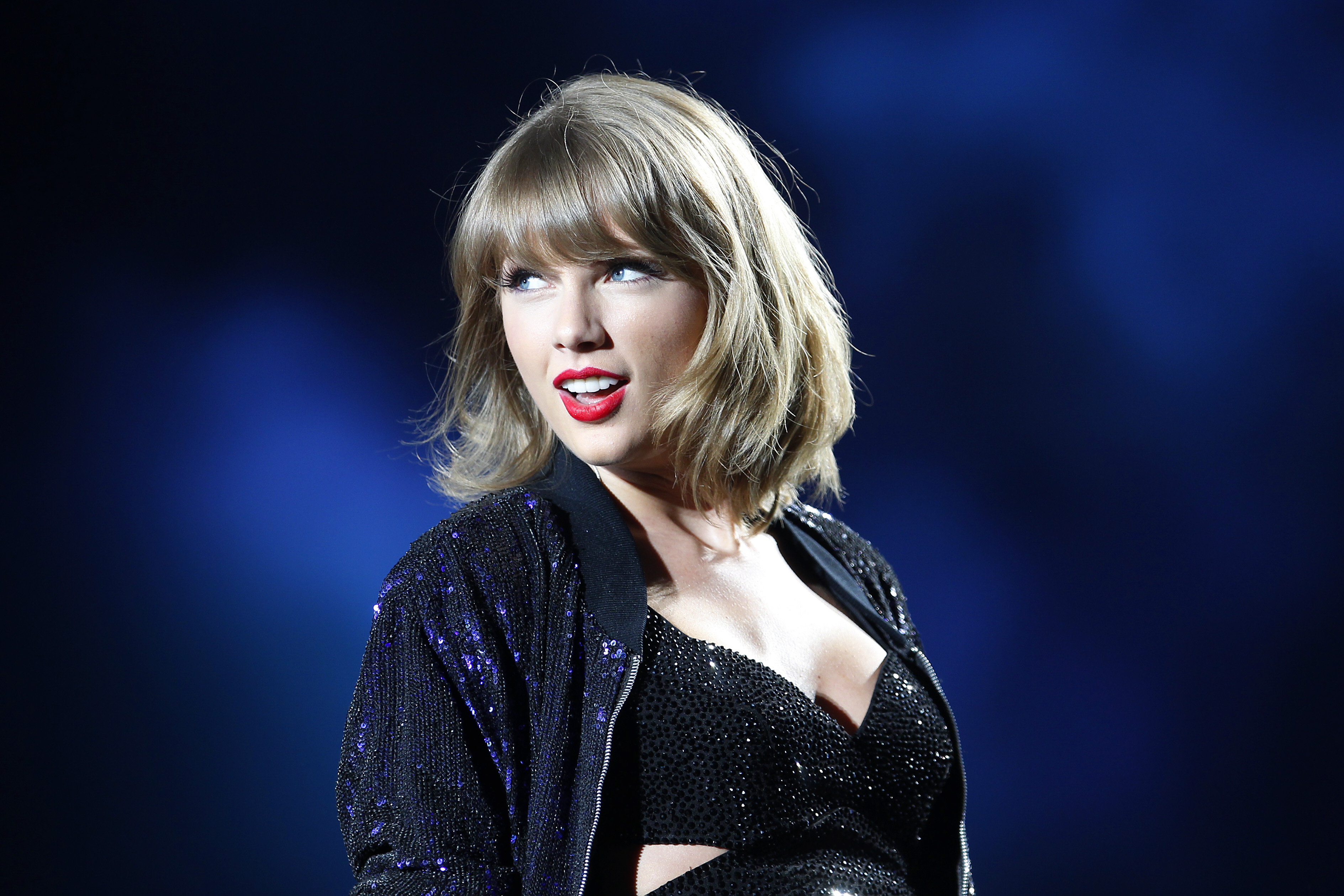 Taylor Swift performs during the  1989  world tour in San Diego on Aug. 29, 2015.