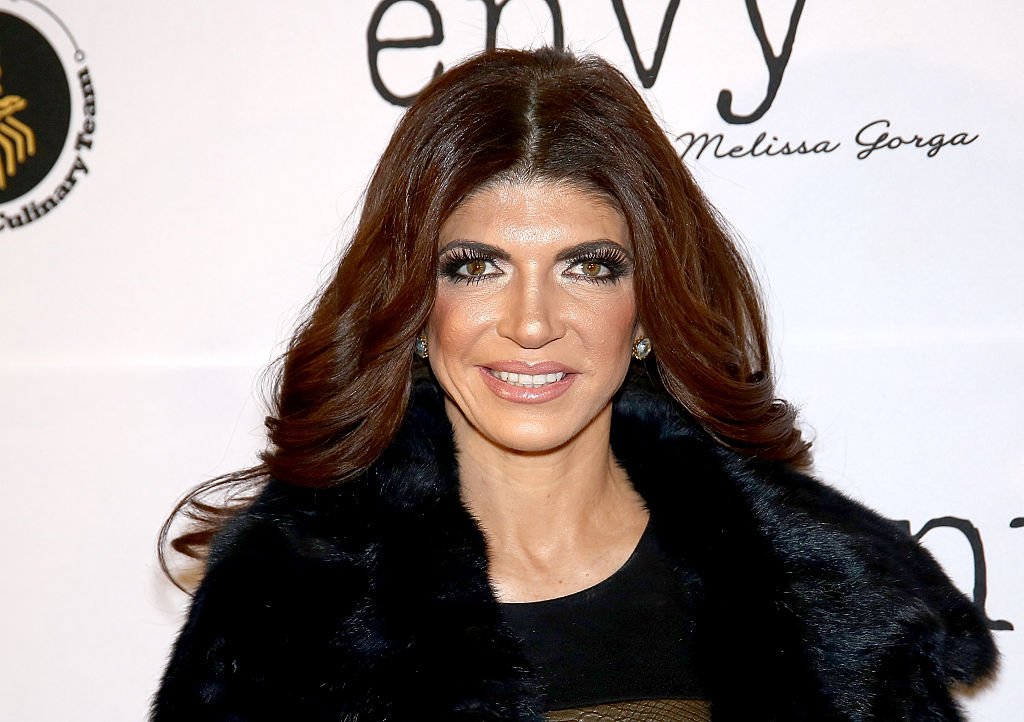 Teresa Giudice is pictured here on Jan. 14, 2016 in Montclair, New Jersey.