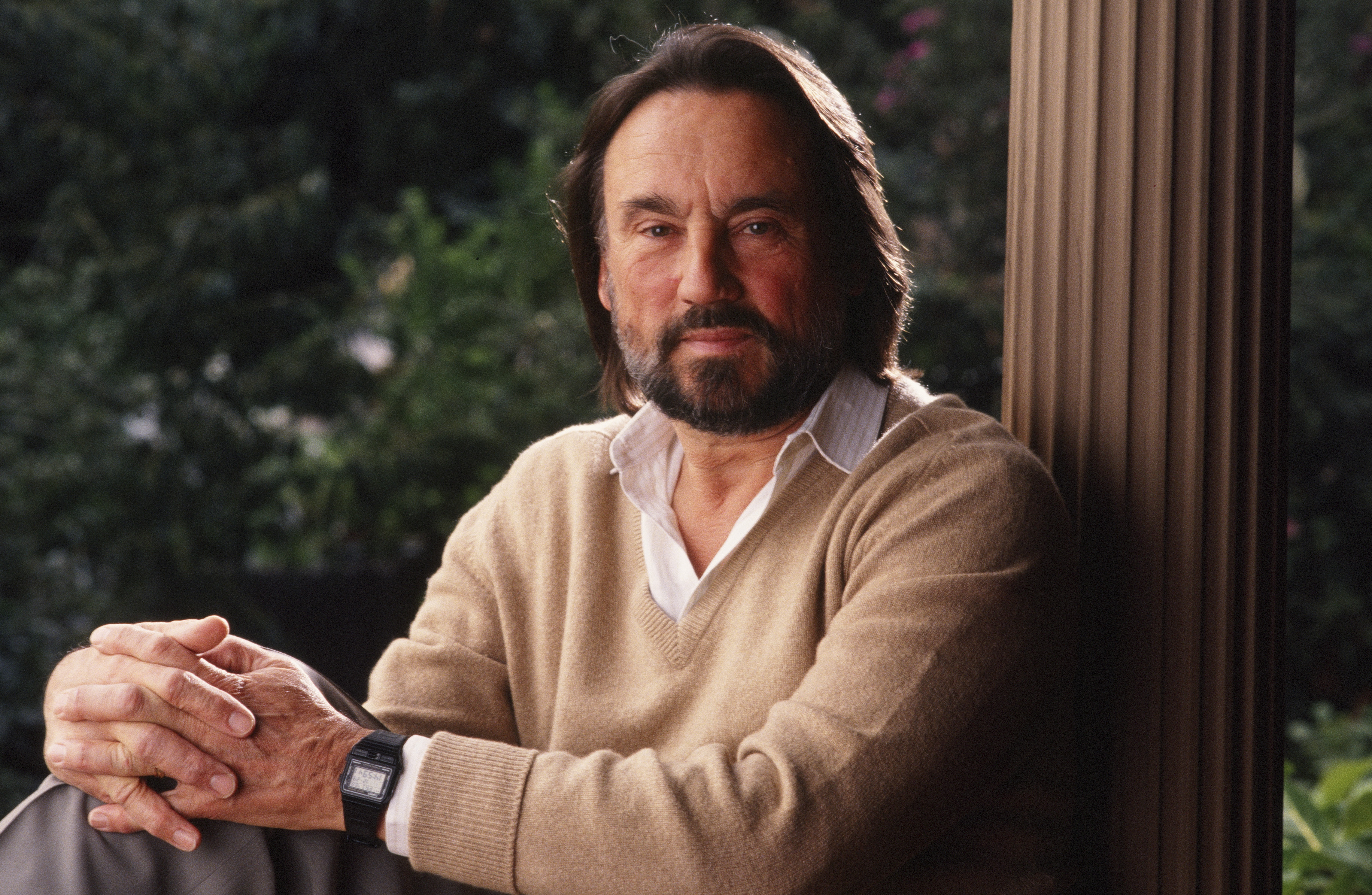 Academy Award-winning cinematographer Vilmos Zsigmond in 1990 in Los Angeles.