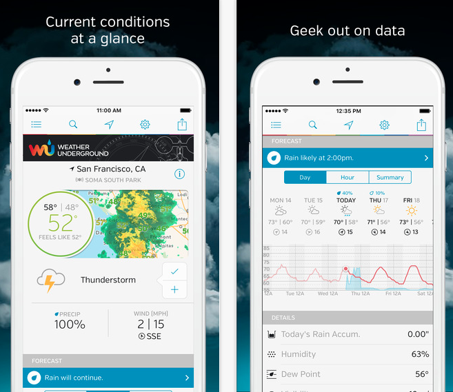 Weather Underground LLC/iTunes