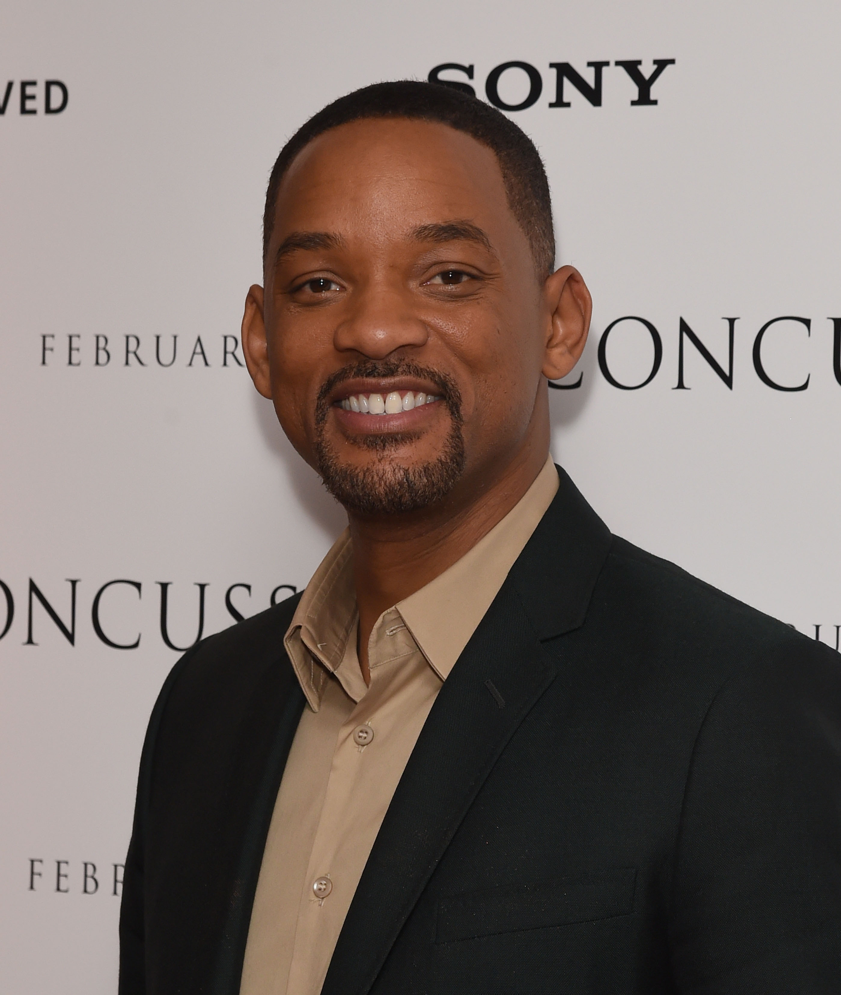 Will Smith attends a special screening of  Concussion  hosted by Will Smith, Susanna Reid and Brian Moore at The Ham Yard Hotel on January 28, 2016 in London, England.