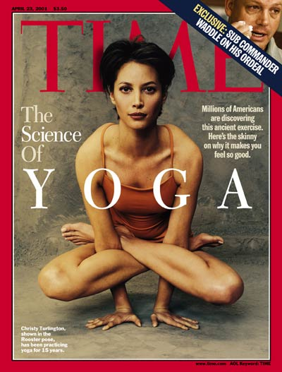 Christy Turlington on the Apr. 23, 2001, cover of TIME