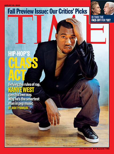 The Aug. 29, 2005, cover of TIME