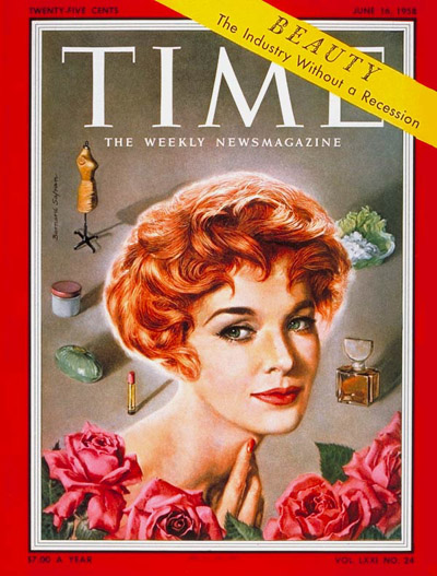 Jean Thom on the June 16, 1958, cover of TIME