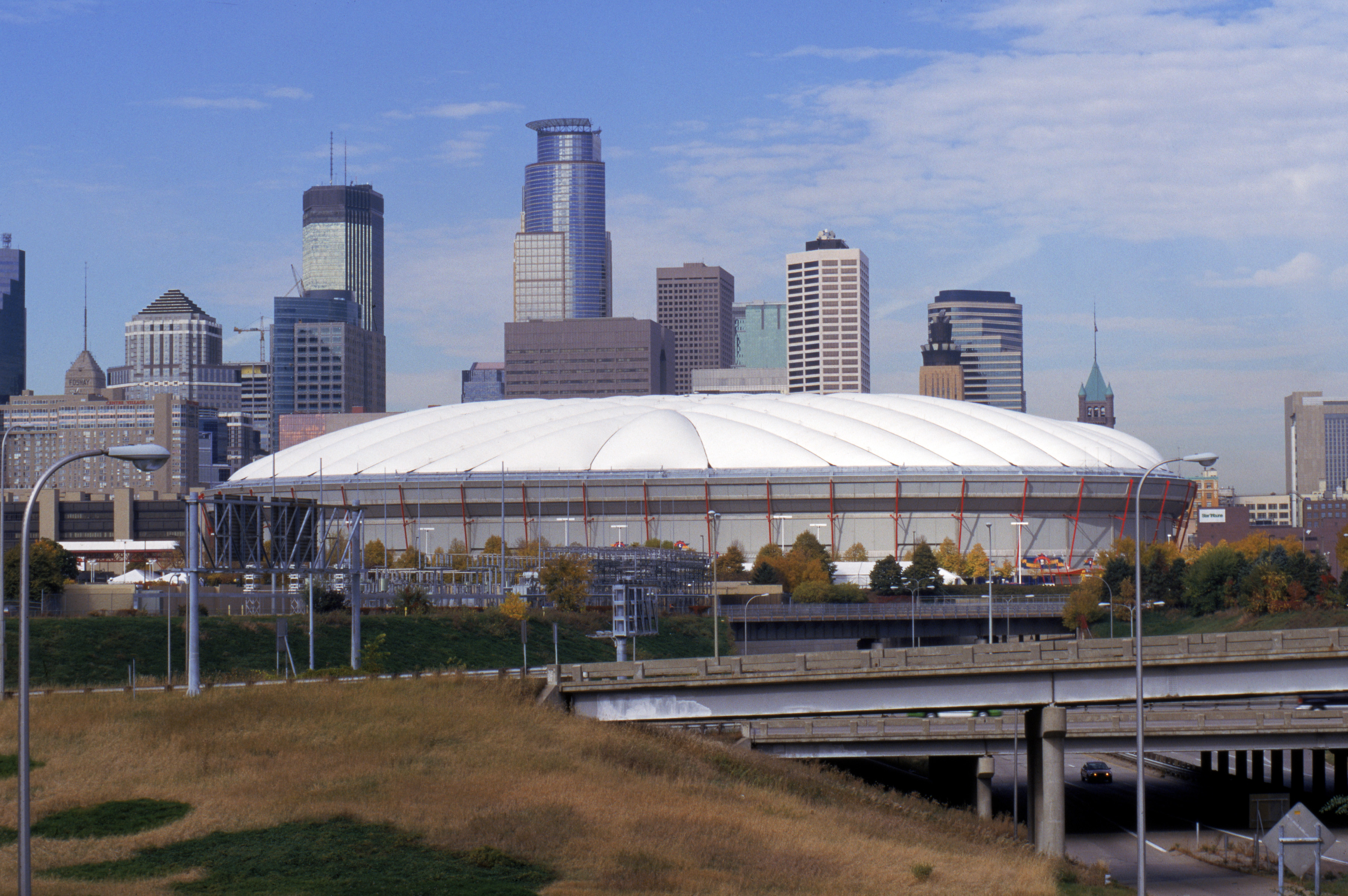 Often referred to simply as the Metrodome, the stadium has been the home of the Minnesota Vikings since it first opened in 1982. Known for its unique fiberglass-domed roof, the Metrodome provides a climate-controlled indoor venue to escape the unpredictable Minnesota weather.