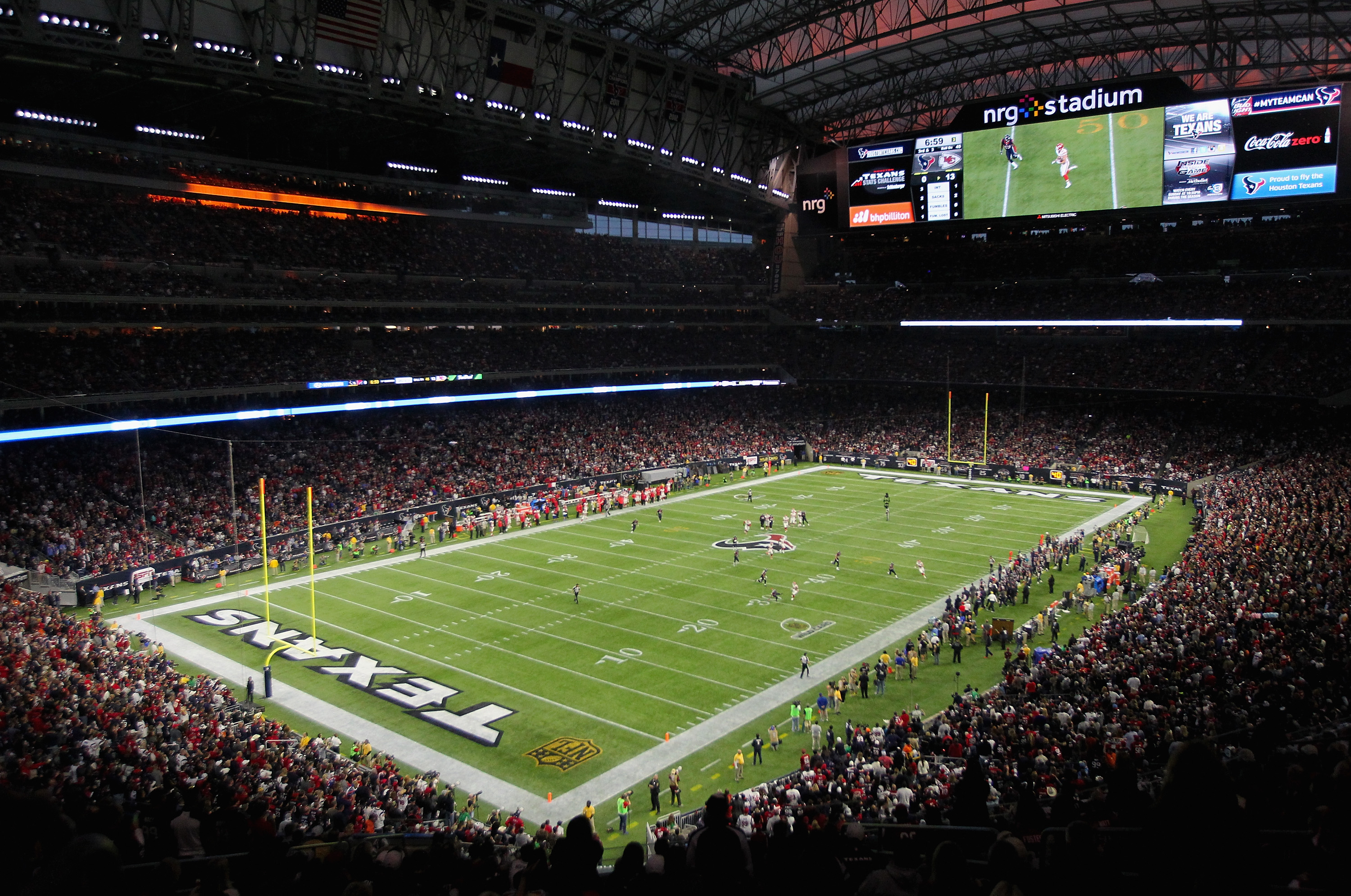 The first NFL facility to possess a retractable roof when it opened in 2002, Reliant is not only home of the Houston Texans but also the annual site of the Houston Livestock Show and Rodeo.