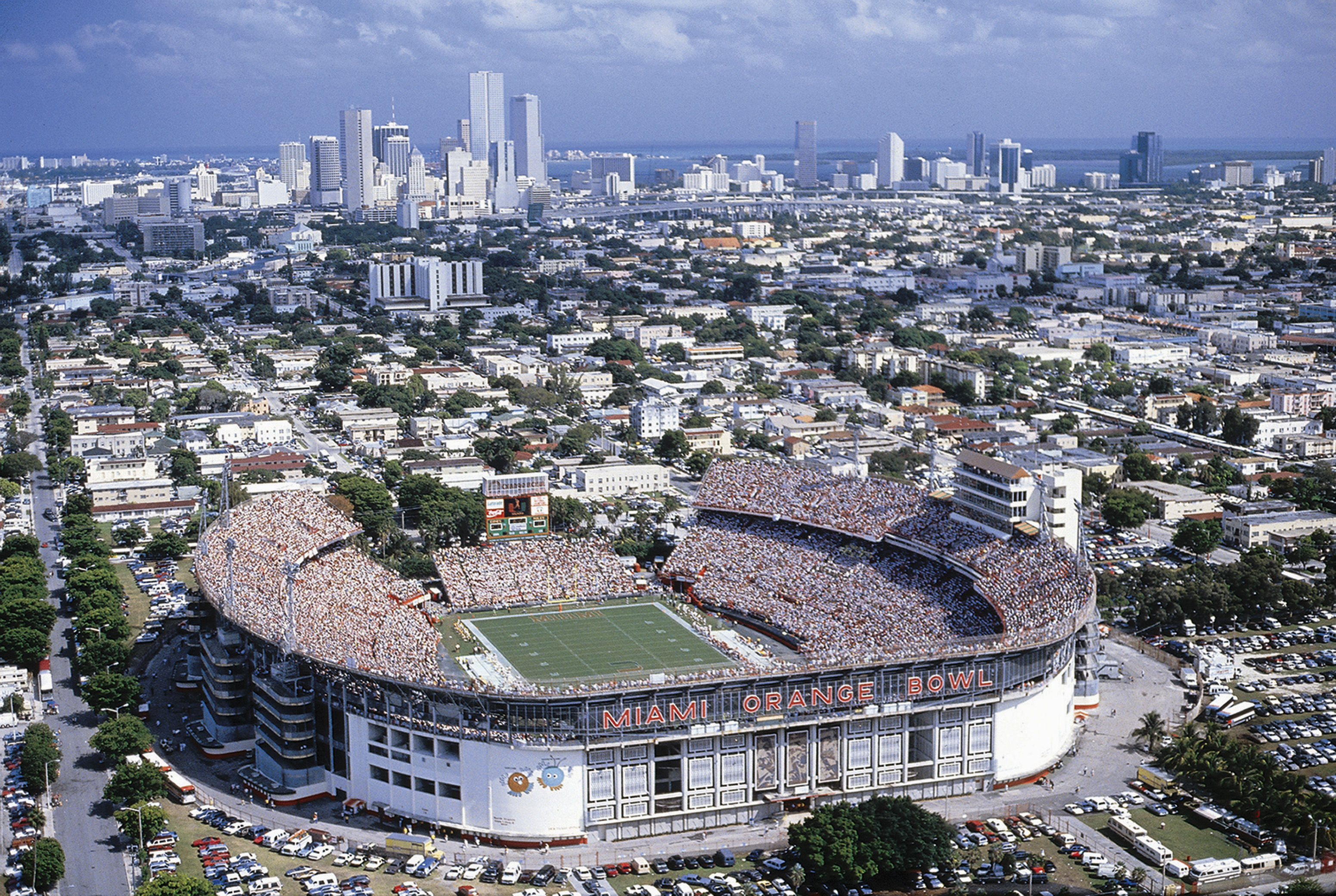 Although the game had been referred to as the  Super Bowl  since the start, it was only at Super Bowl III, held at the Miami Orange Bowl, that football's championship game received the now legendary official billing. Opened in 1937, the original Orange Bowl was demolished in 2008 to make room for a new Florida Marlins baseball stadium.