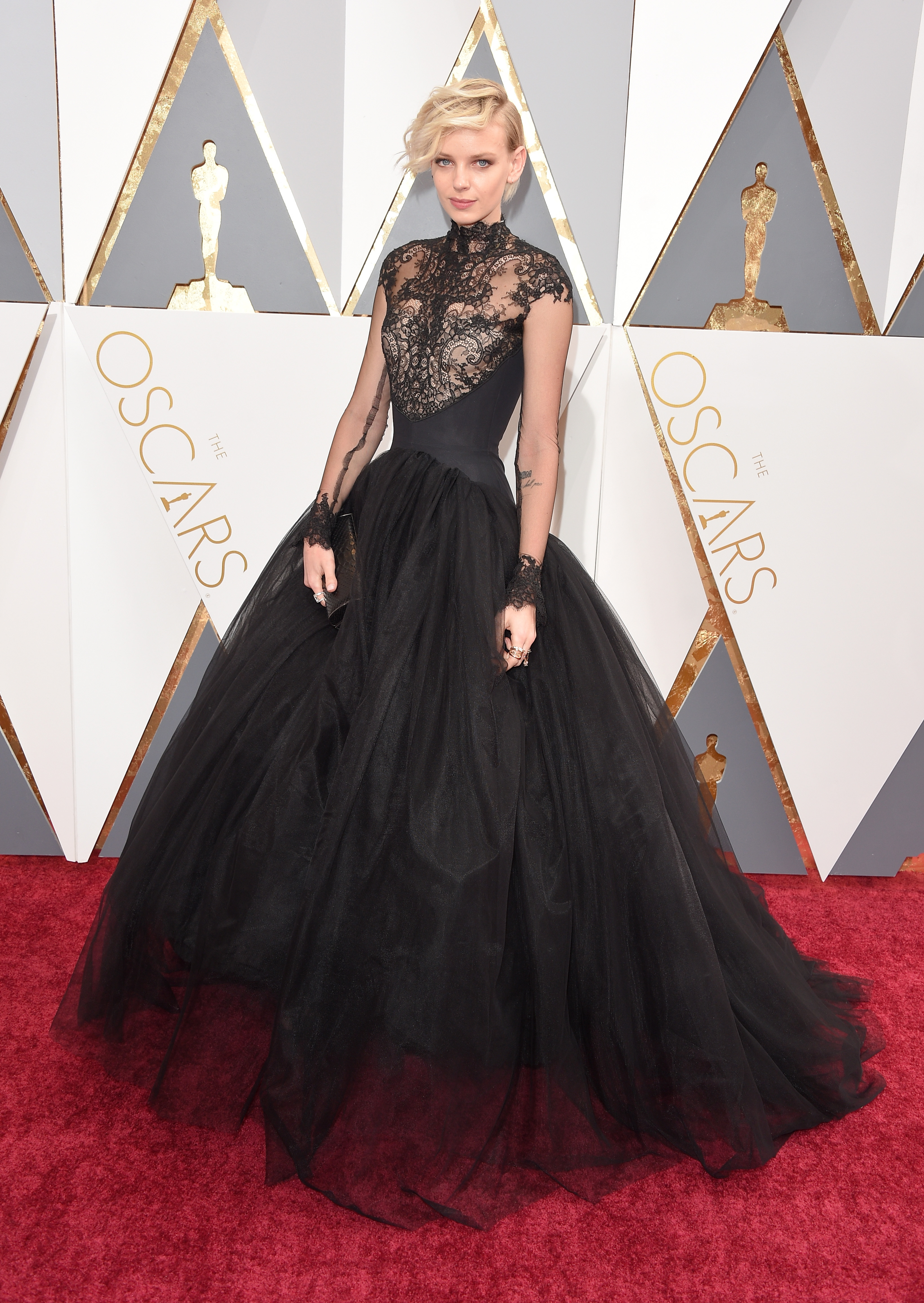 Dorith Mous attends the 88th Annual Academy Awards on Feb. 28, 2016 in Hollywood, Calif.