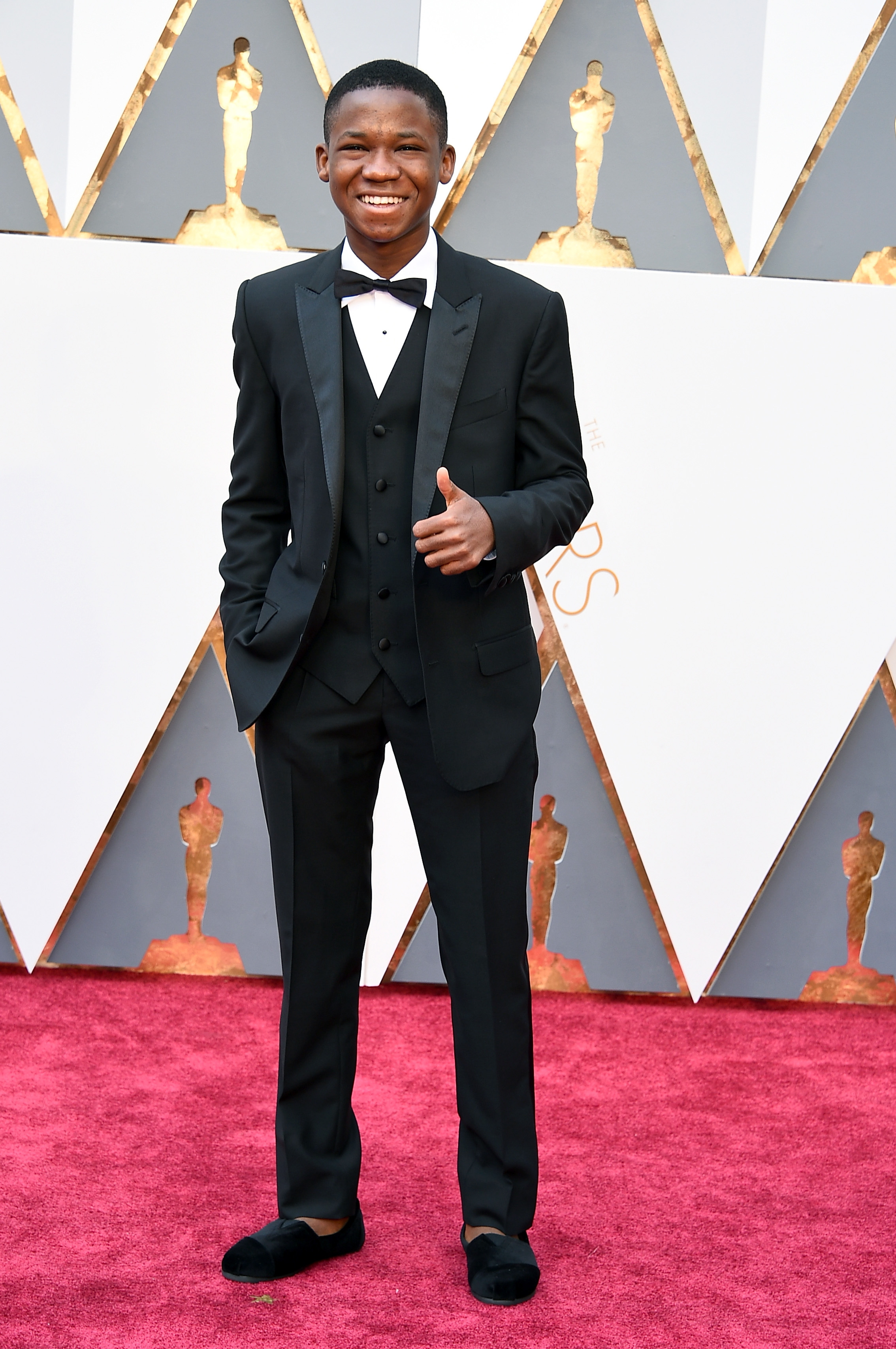 Abraham Attah attends the 88th Annual Academy Awards on Feb. 28, 2016 in Hollywood, Calif.