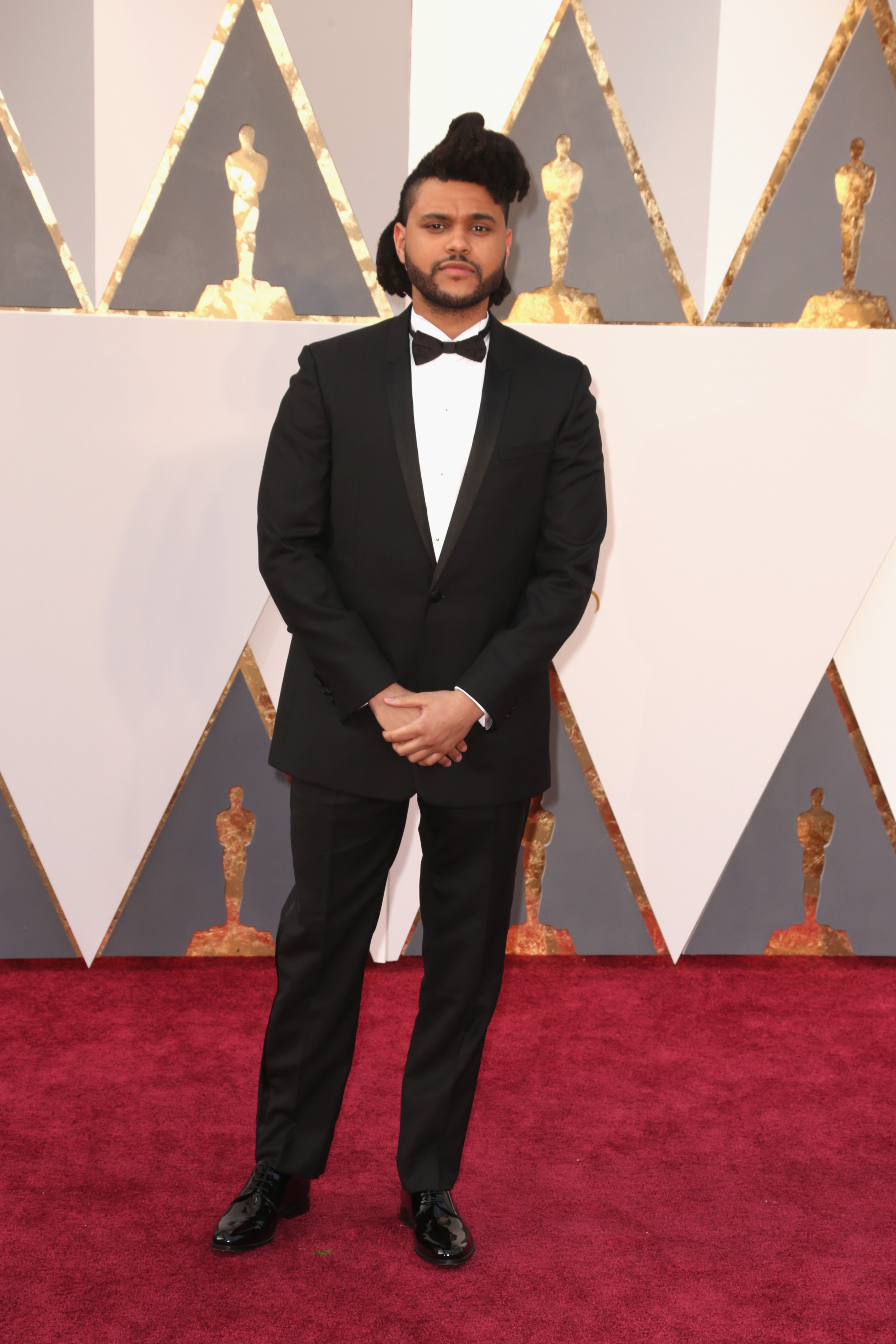 The Weeknd attends the 88th Annual Academy Awards on Feb. 28, 2016 in Hollywood, Calif.