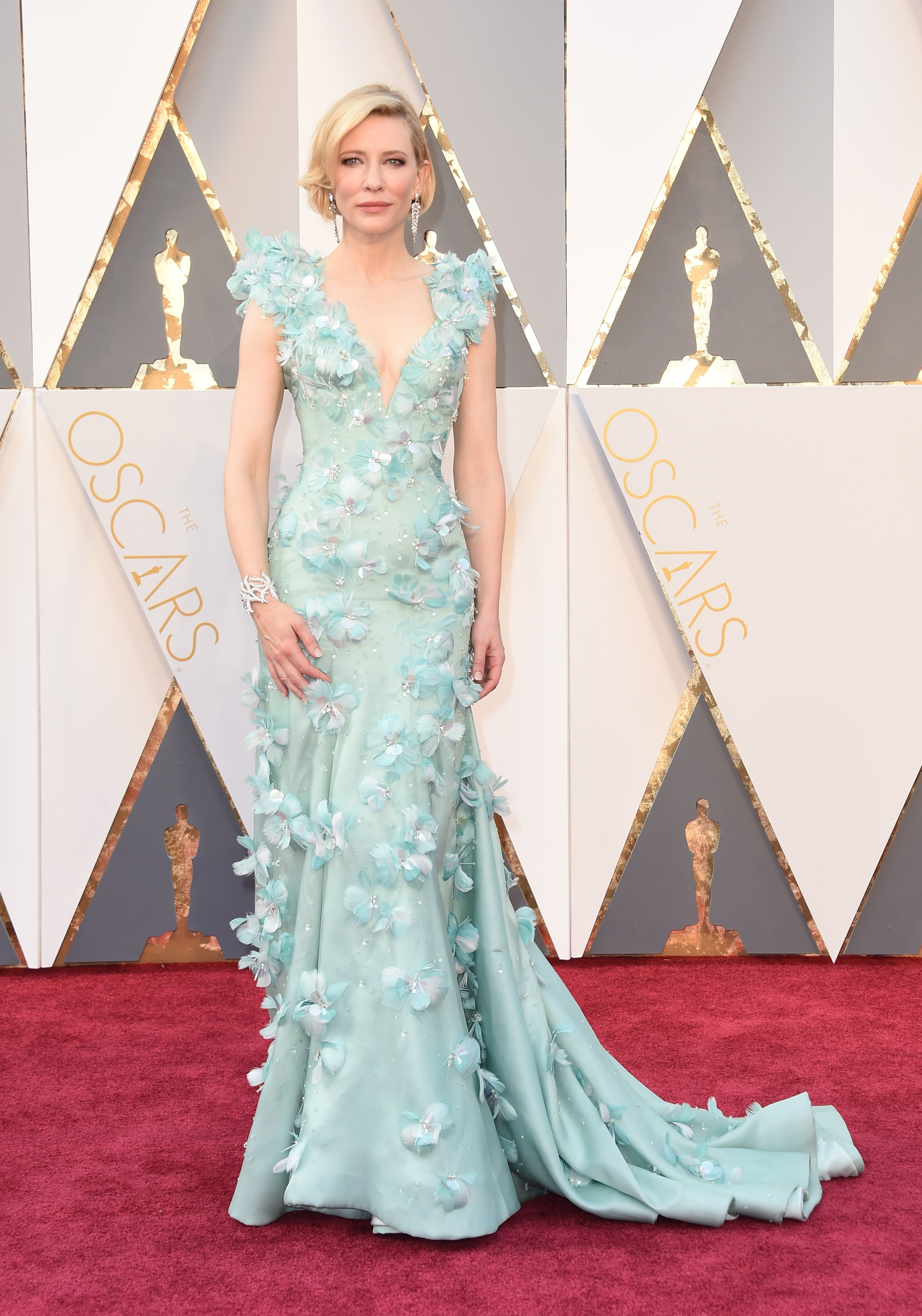 Cate Blanchett attends the 88th Annual Academy Awards on Feb. 28, 2016 in Hollywood, Calif.