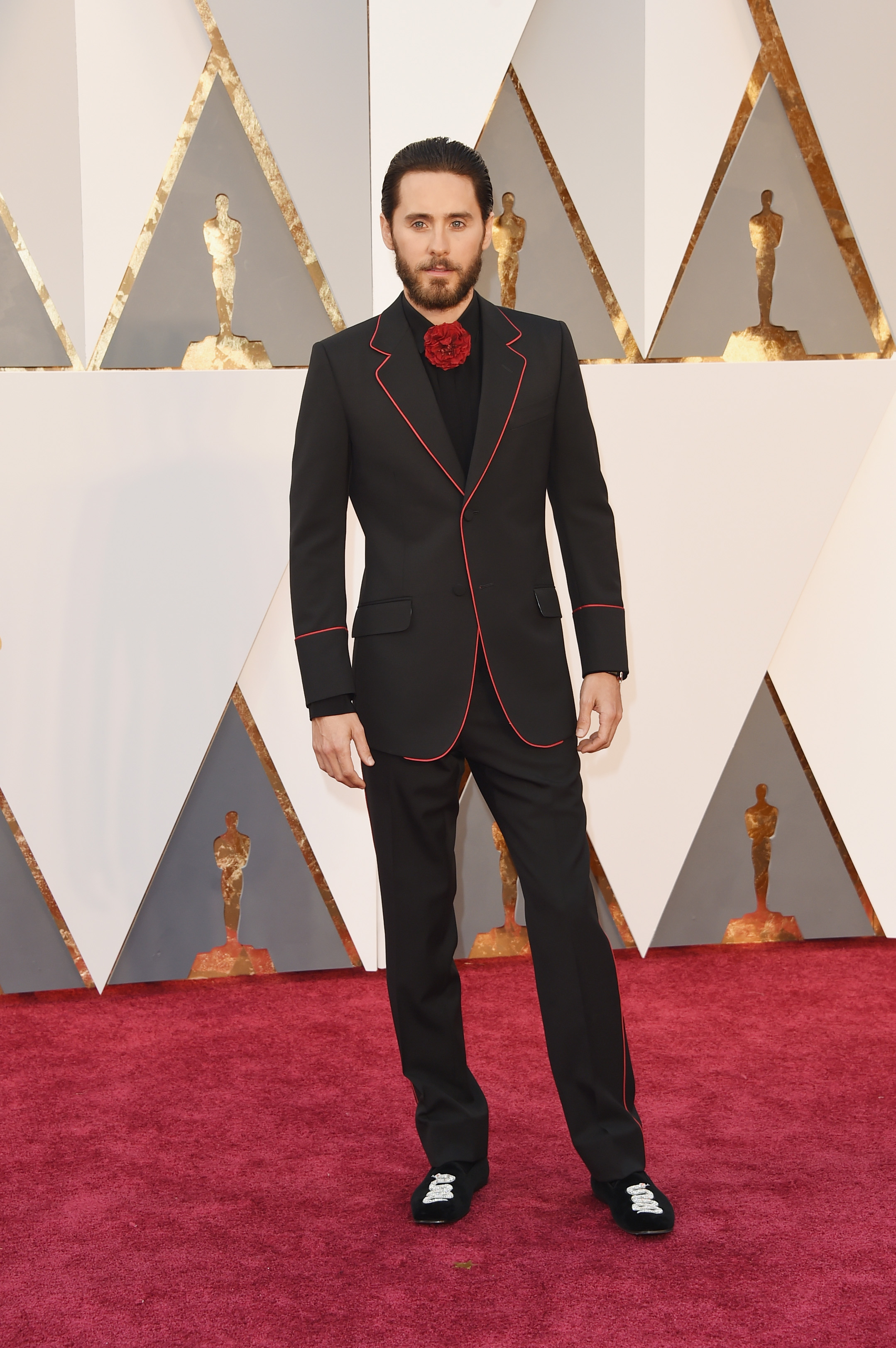 Jared Leto attends the 88th Annual Academy Awards on Feb. 28, 2016 in Hollywood, Calif.