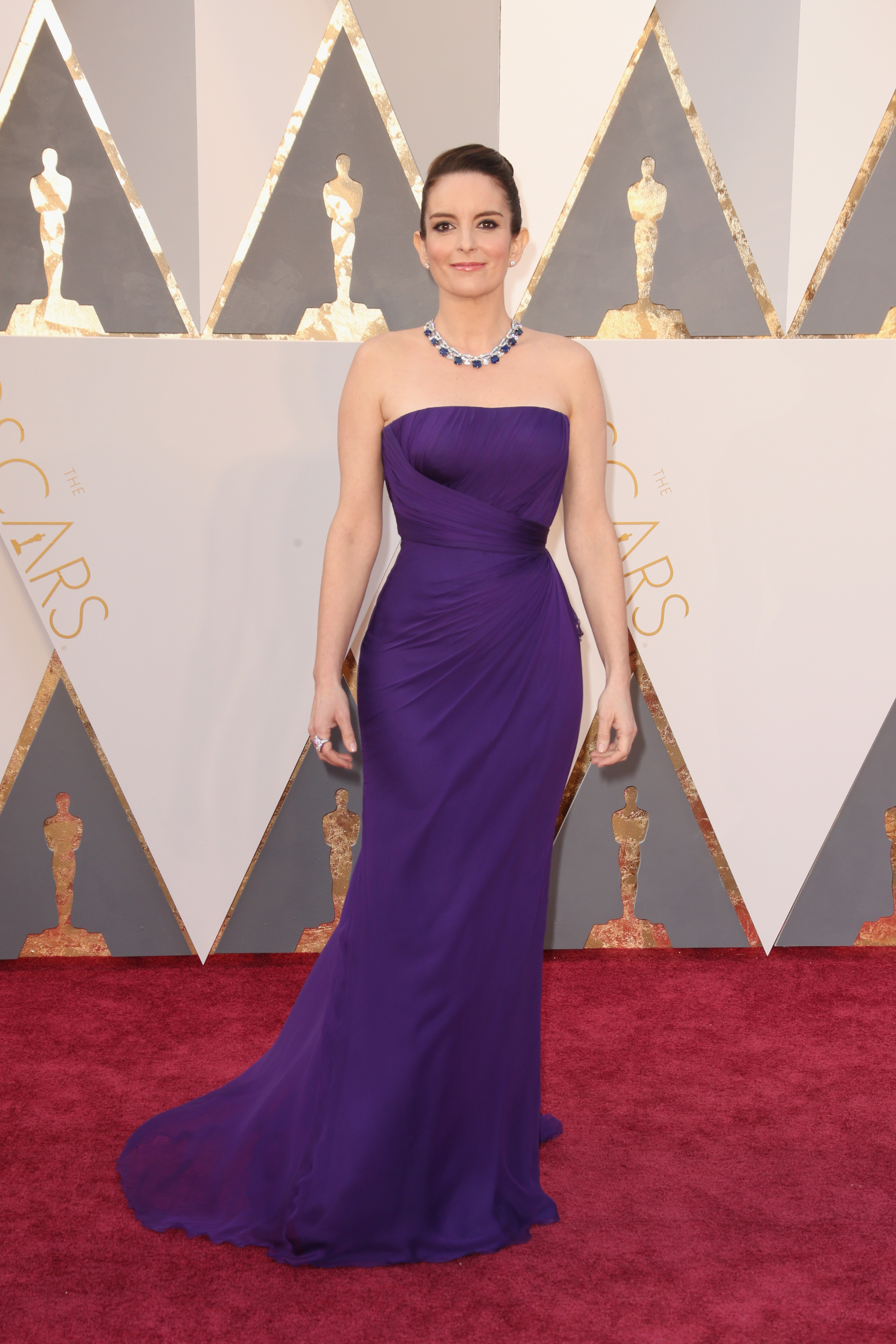 Tina Fey attends the 88th Annual Academy Awards on Feb. 28, 2016 in Hollywood, Calif.