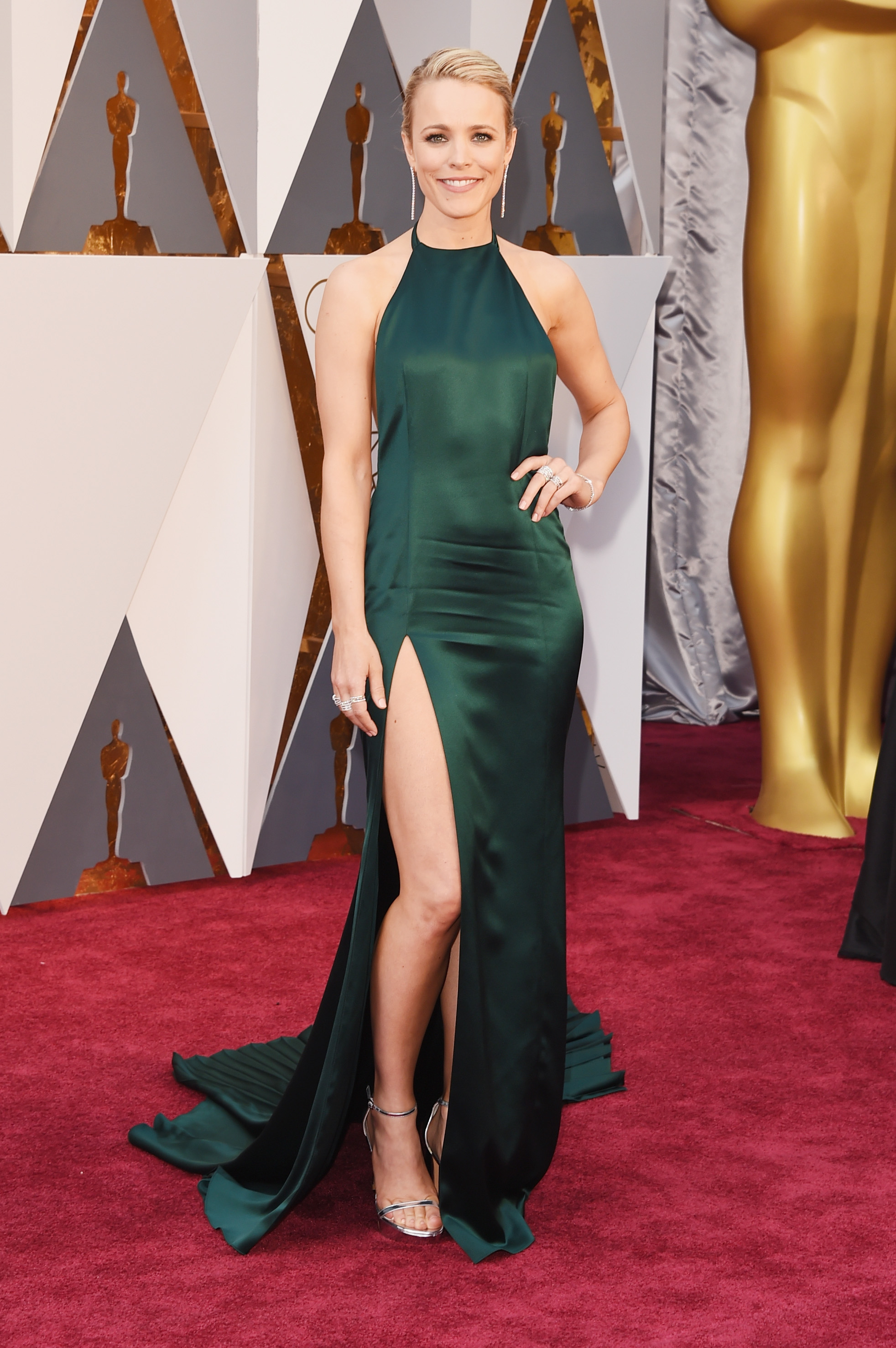 Rachel McAdams attends the 88th Annual Academy Awards on Feb. 28, 2016 in Hollywood, Calif.