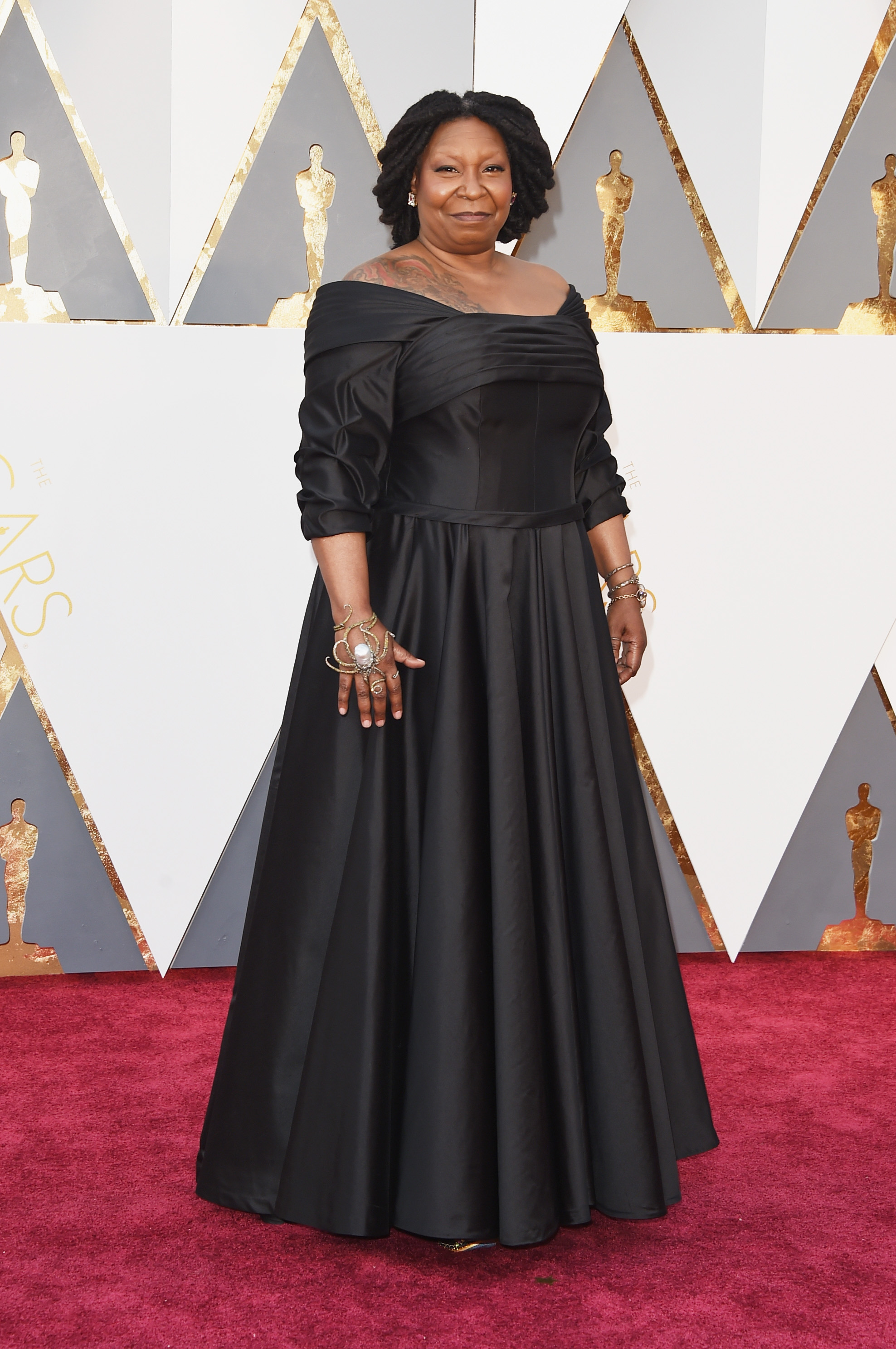 Whoopi Goldberg attends the 88th Annual Academy Awards on Feb. 28, 2016 in Hollywood, Calif.