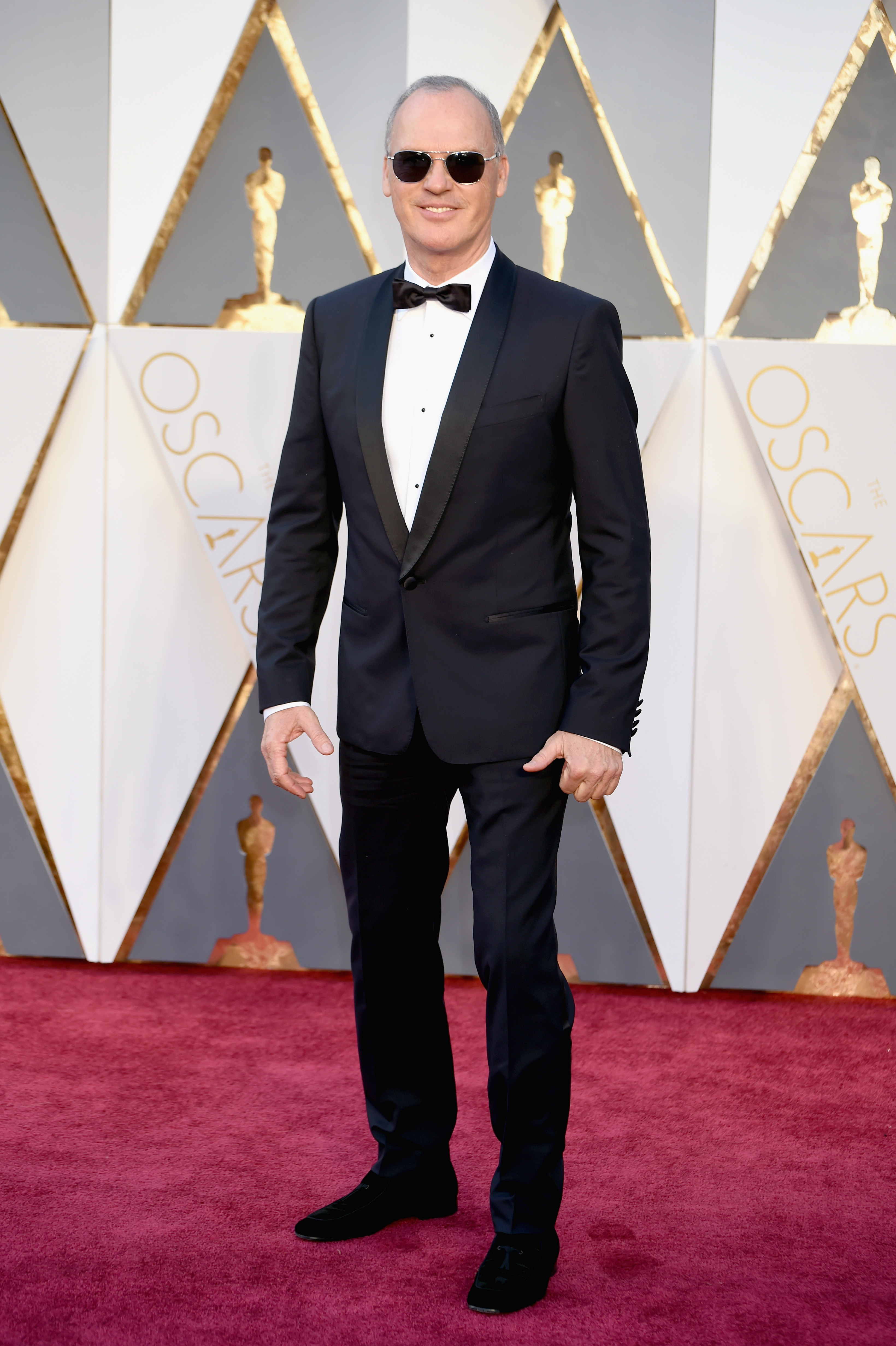 Michael Keaton attends the 88th Annual Academy Awards on Feb. 28, 2016 in Hollywood, Calif.