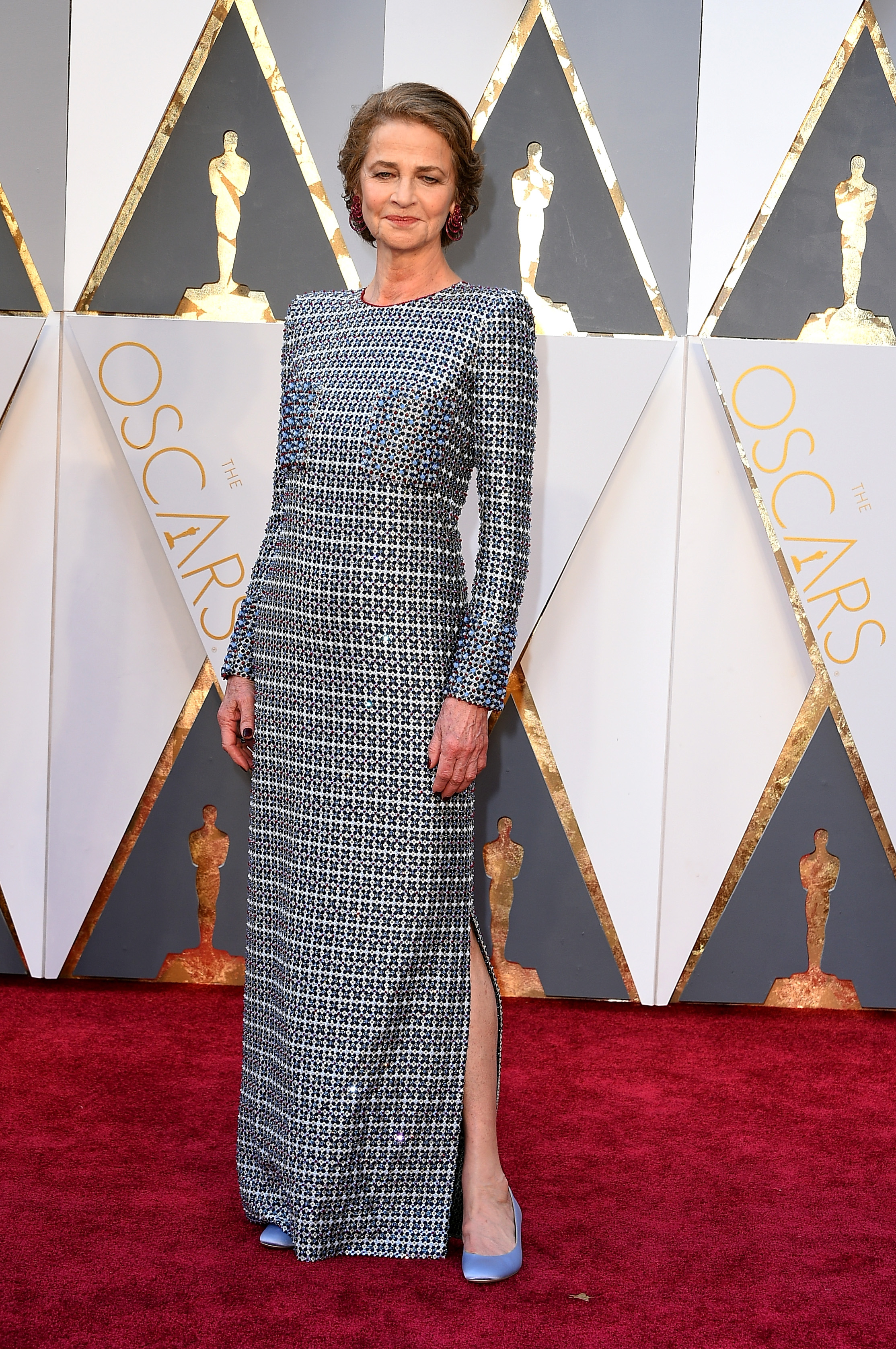 Charlotte Rampling attends the 88th Annual Academy Awards on Feb. 28, 2016 in Hollywood, Calif.