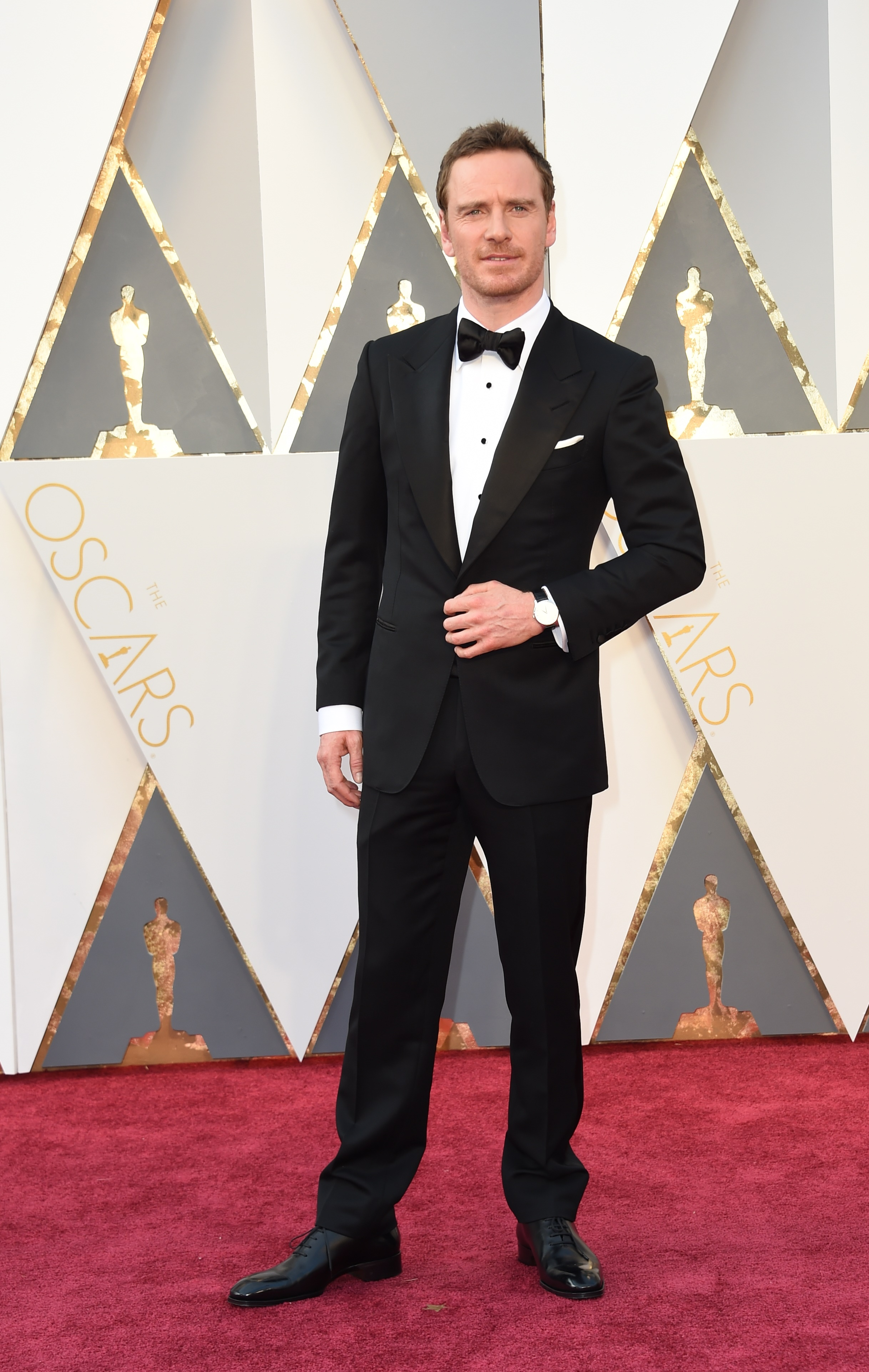 Michael Fassbender attends the 88th Annual Academy Awards on Feb. 28, 2016 in Hollywood, Calif.