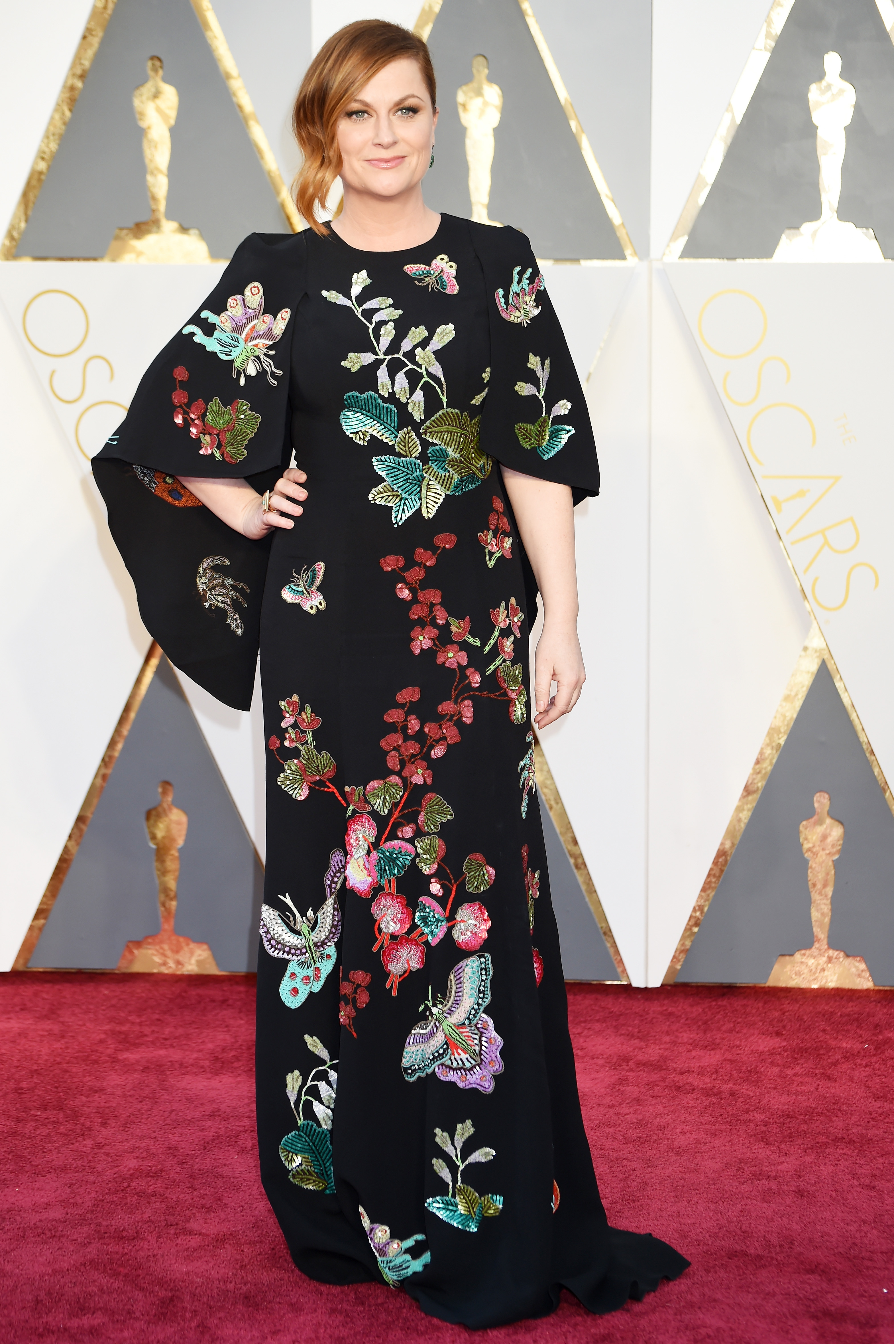 Amy Poehler attends the 88th Annual Academy Awards on Feb. 28, 2016 in Hollywood, Calif.