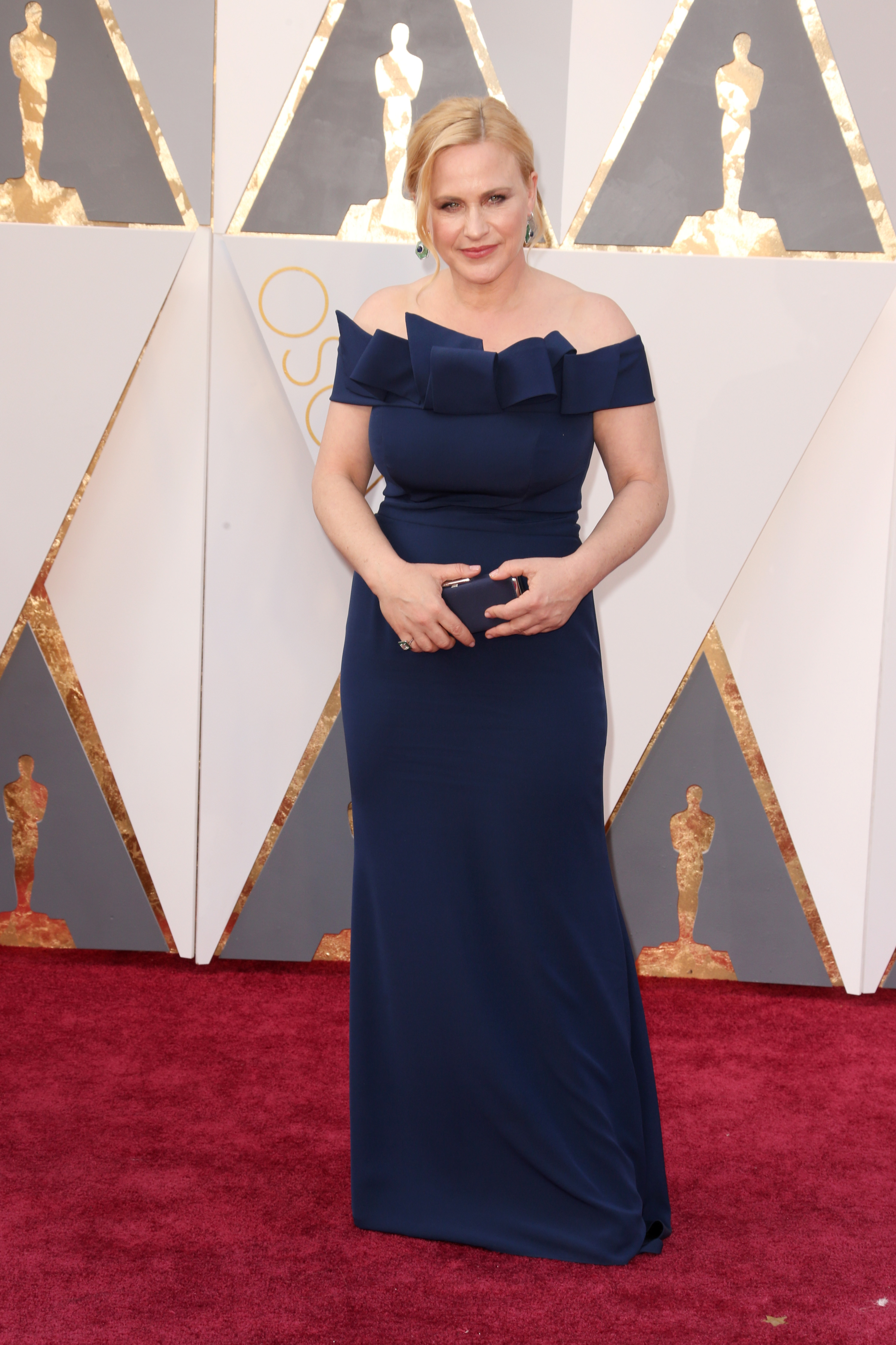 Patricia Arquette attends the 88th Annual Academy Awards on Feb. 28, 2016 in Hollywood, Calif.