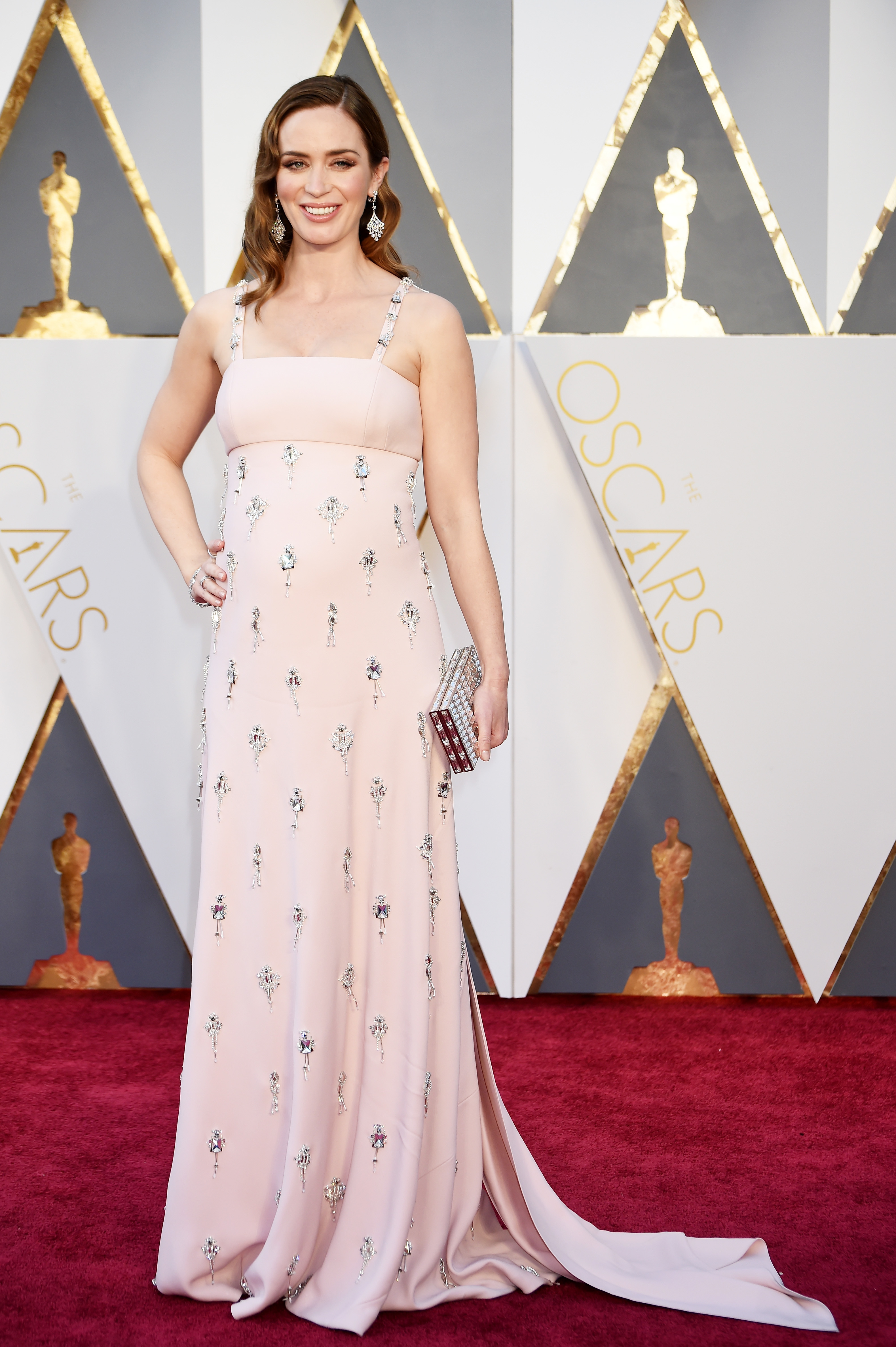 Emily Blunt attends the 88th Annual Academy Awards on Feb. 28, 2016 in Hollywood, Calif.