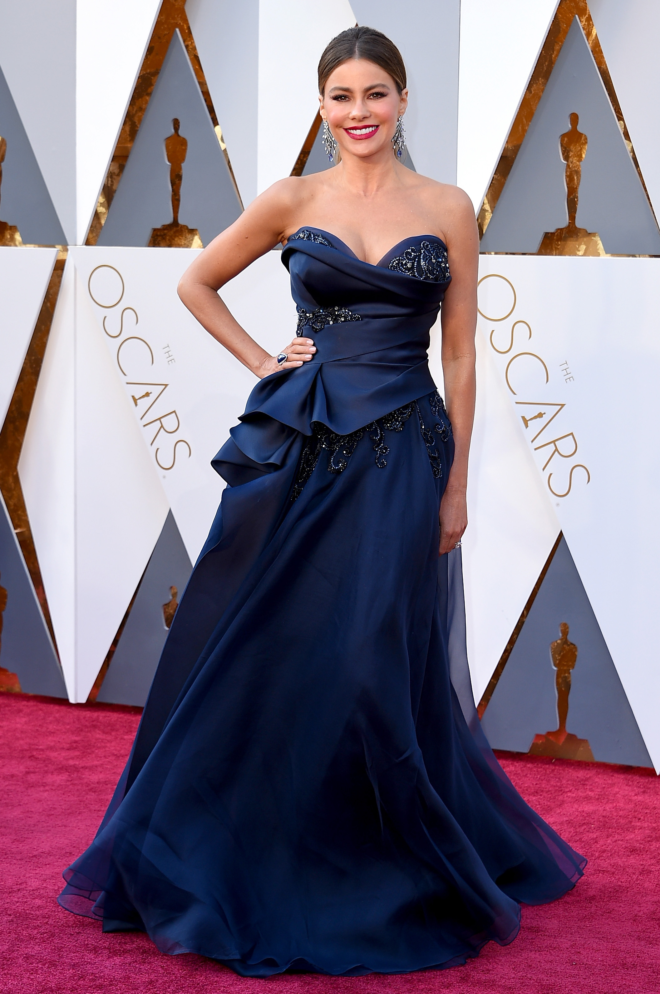 Sofia Vergara attends the 88th Annual Academy Awards on Feb. 28, 2016 in Hollywood, Calif.