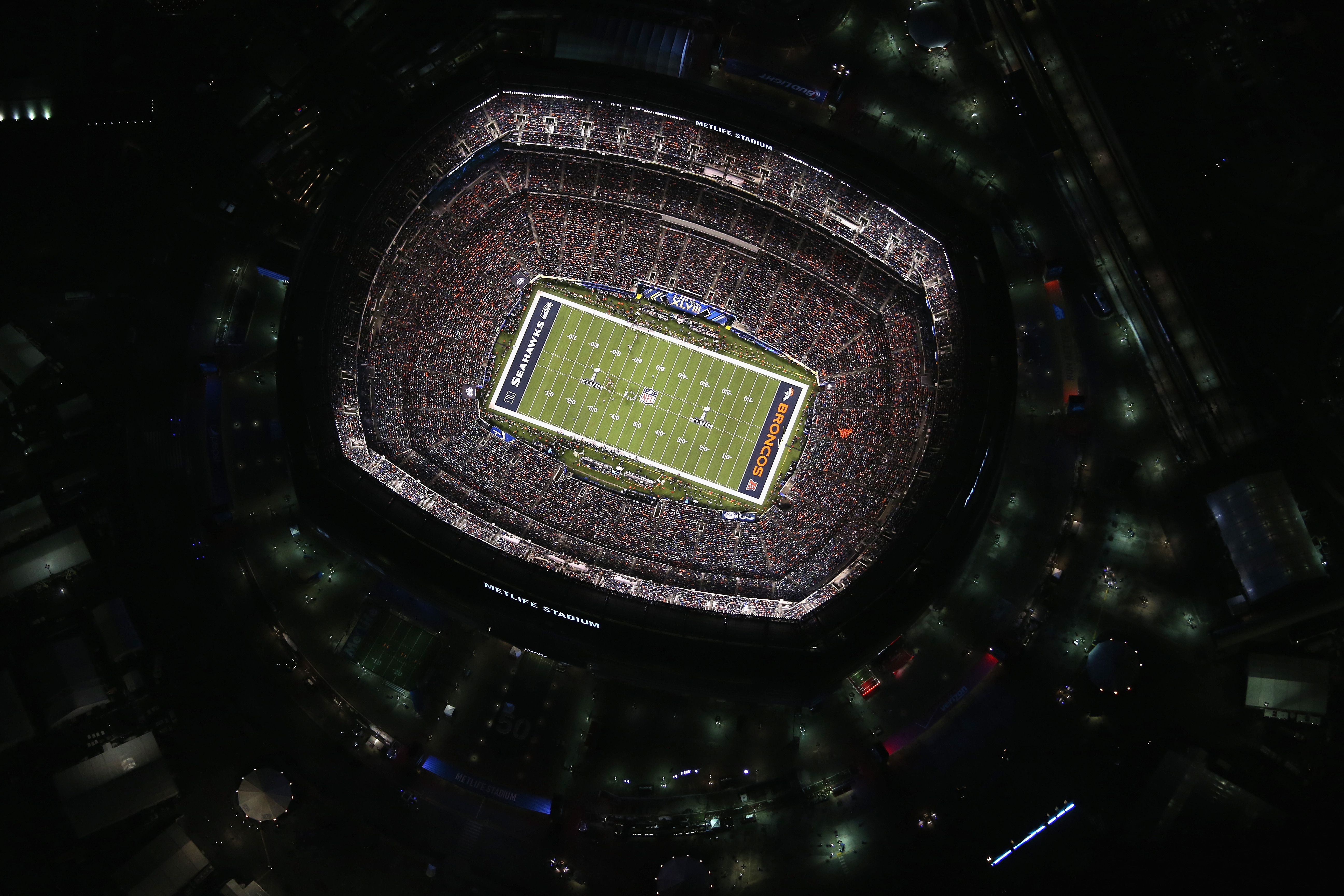 Metlife Stadium, owned and operated by both the New York Jets and New York Giants, hosts 20 NFL games per year, twice as many as any other NFL stadium. The stadium in East Rutherford, N.J., opened in 2010 and holds up to 82,500 people for football games.