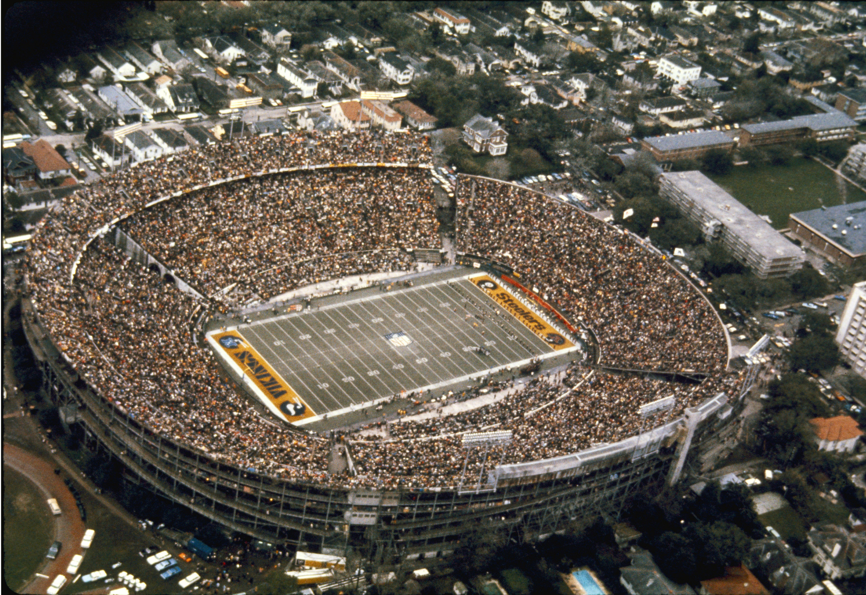 Opened in 1926, Tulane Stadium was the original home of the New Orleans Saints before the franchise's move to the Louisiana Superdome. The venue was razed in 1979 to make room for additional Tulane University buildings.