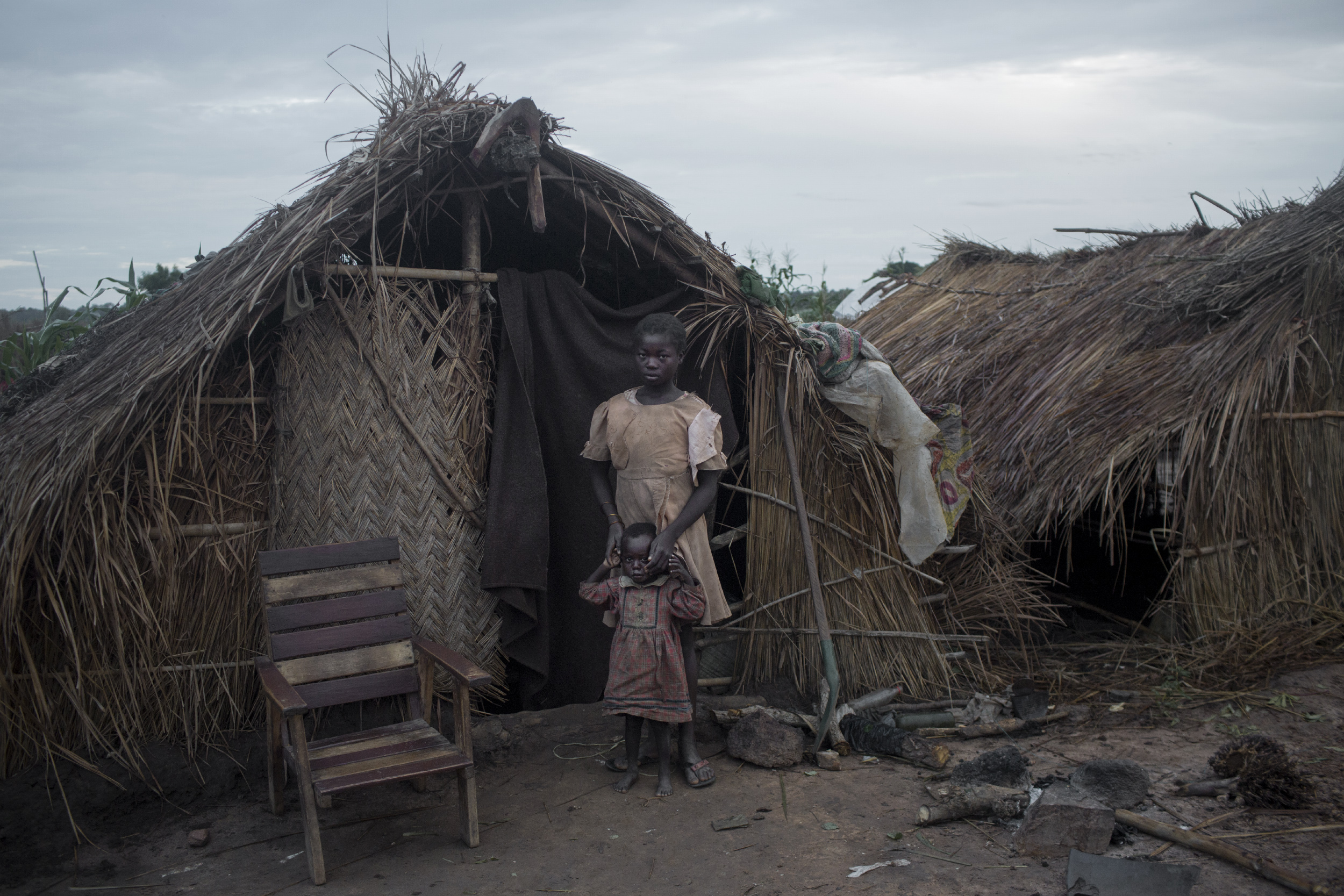 A camp for internally displaced people in Kaga Bandoro, Central African Republic, July 30, 2015.