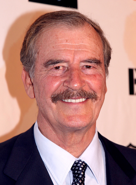 Former President of Mexico Vicente Fox Paul Redmond—WireImage