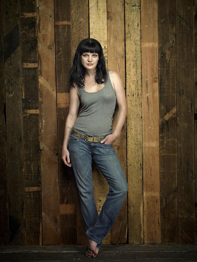 Pauley Perrette as Abby Sciuto of the CBS series NCIS.