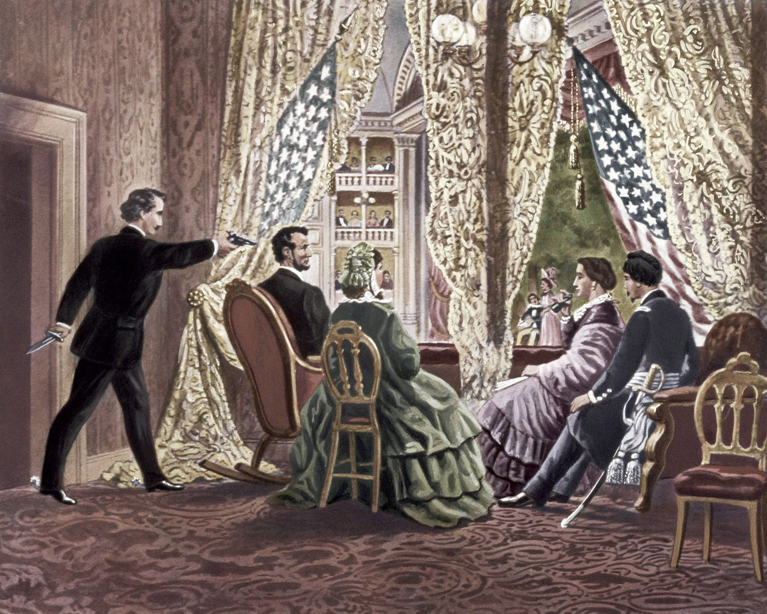 The Assassination of Abraham Lincoln, 1865