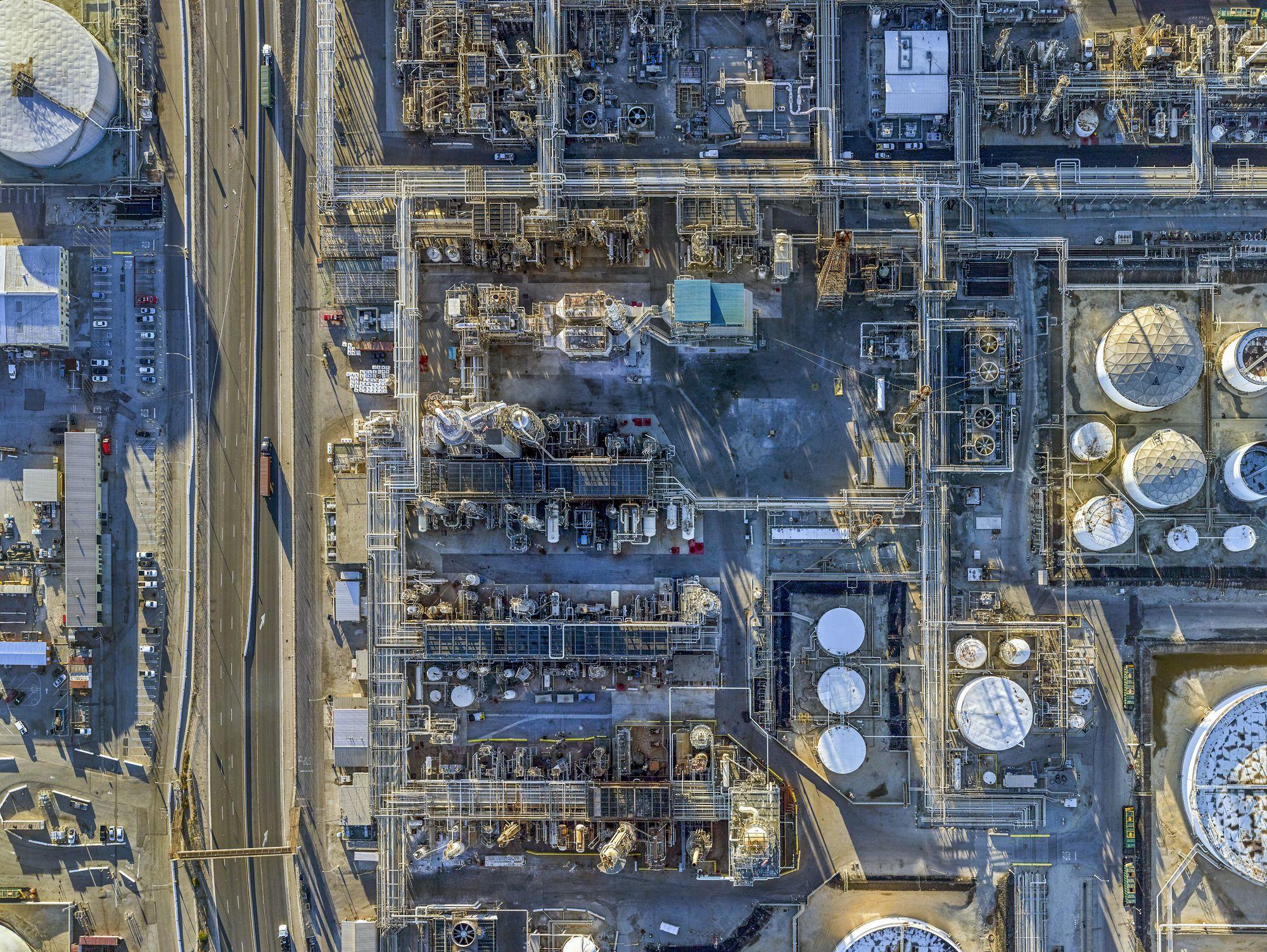 Valero Wilmington Refinery, Wilmington, Calif., 2016.