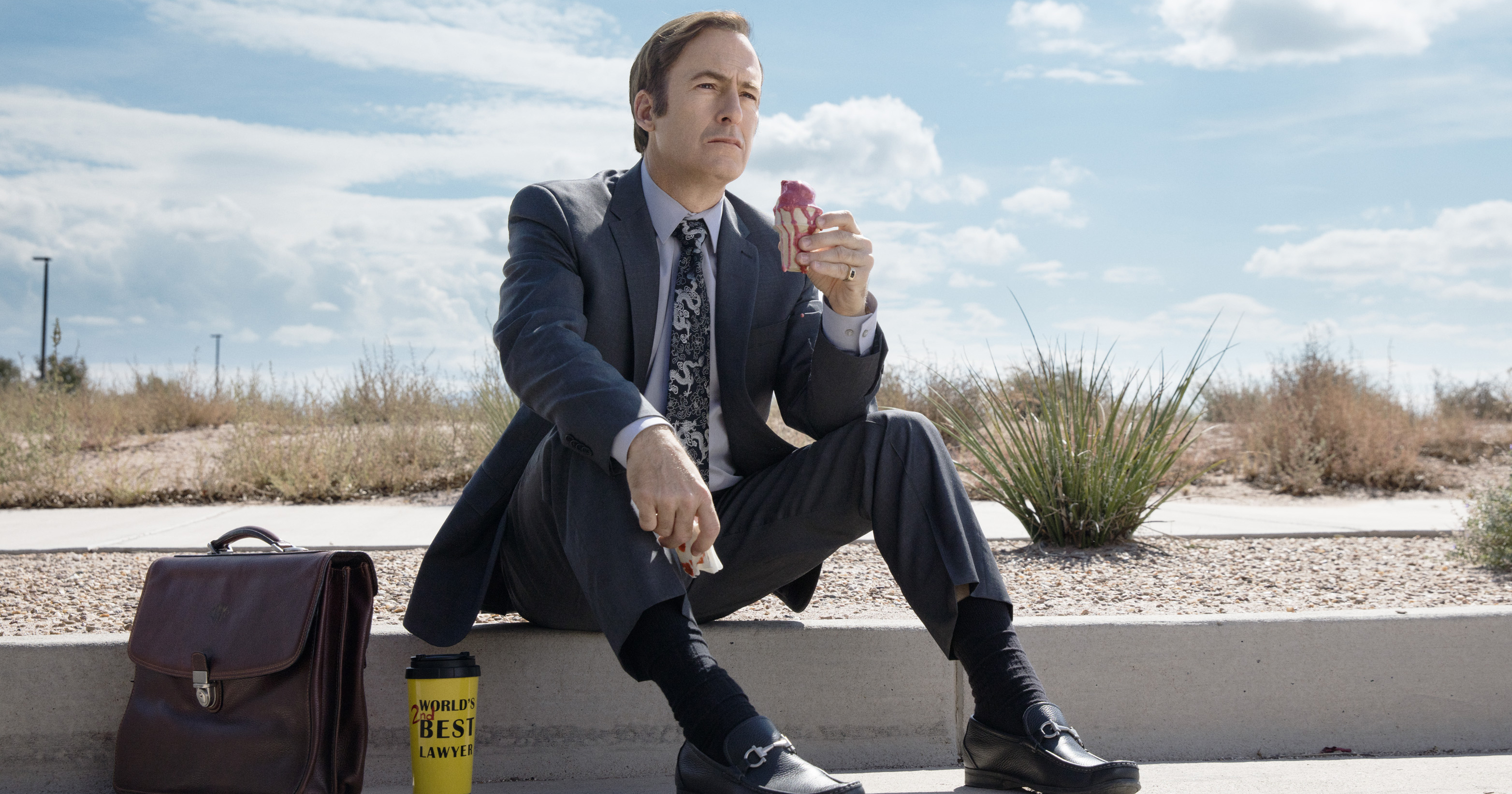 Bob Odenkirk, as Jimmy McGill, in Better Call Saul.