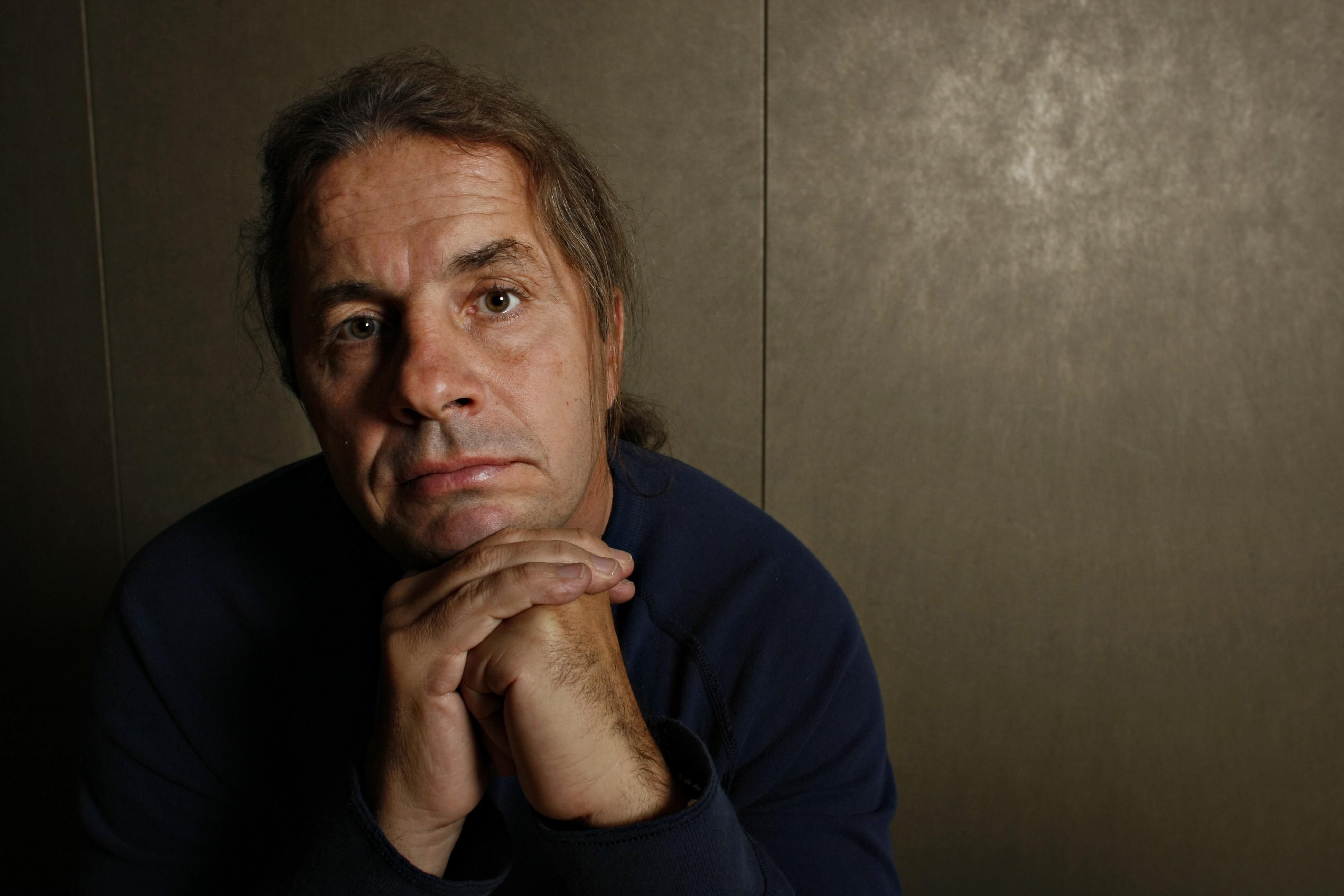 Bret Hart photographed at Random House Publishing, October 23, 2007.