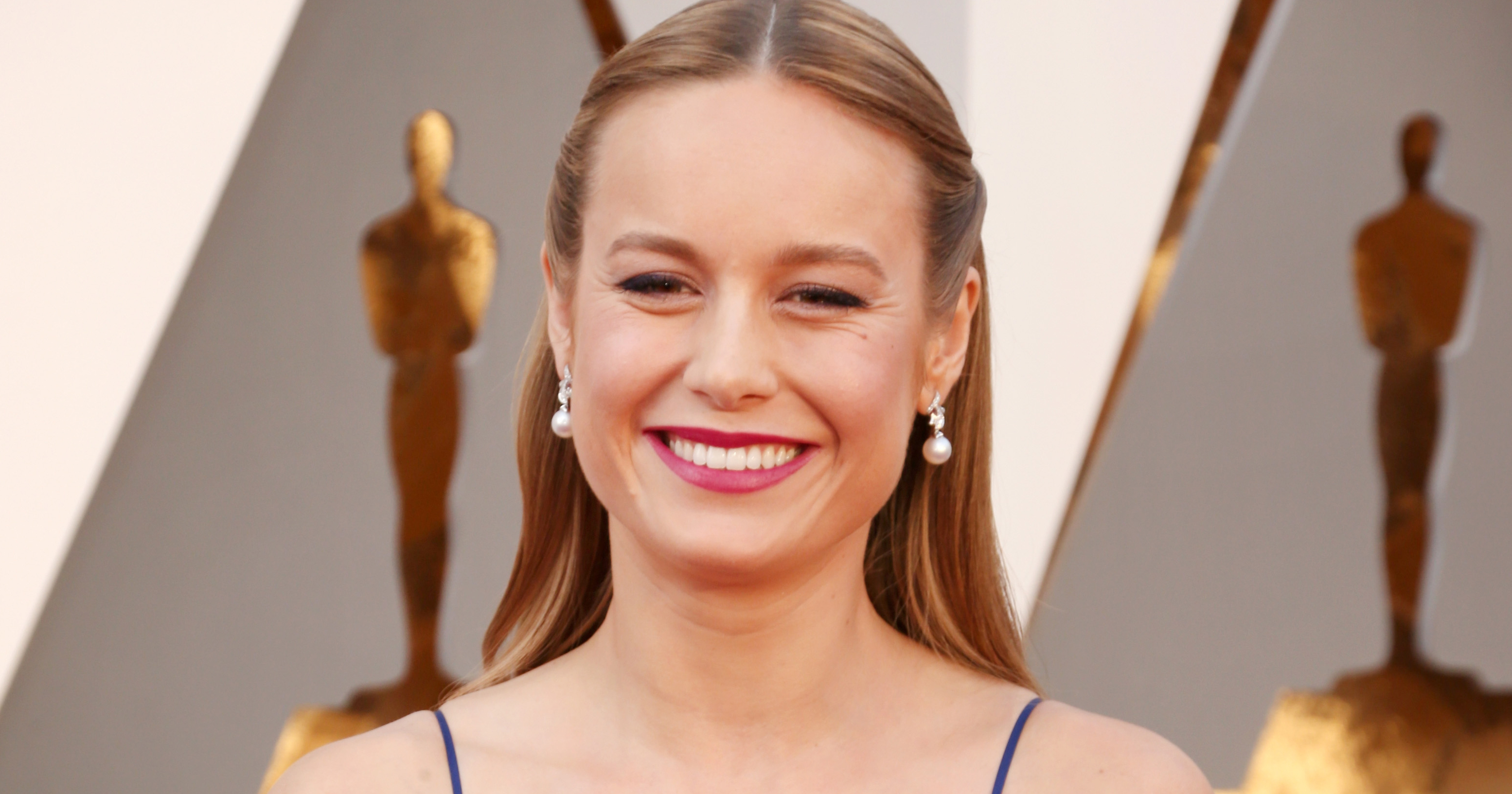 Brie Larson attends the 88th Annual Academy Awards on Feb. 28, 2016 in Hollywood, Calif.