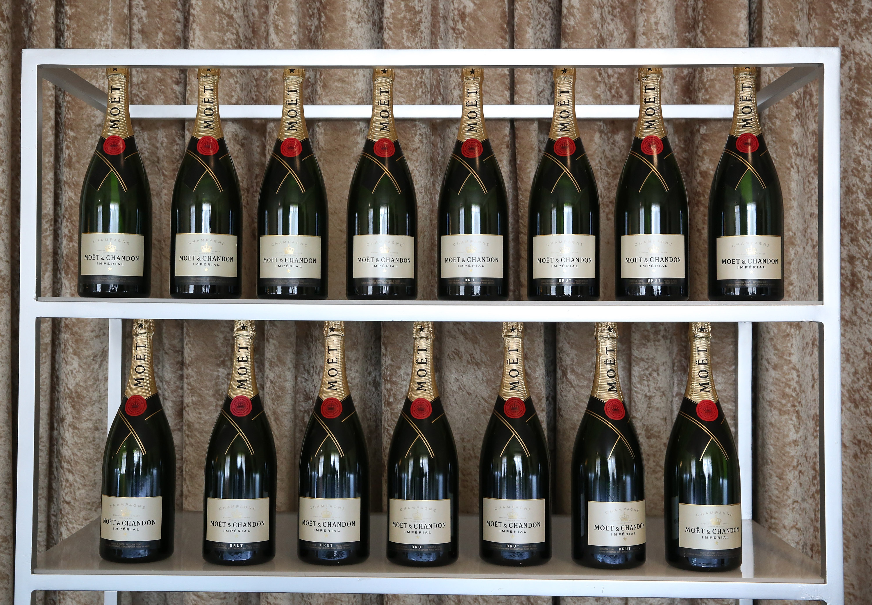 Moet & Chandon at the 73rd Annual Golden Globe Awards Social Media Reception at The Beverly Hilton Hotel on January 10, 2016 in Beverly Hills, California.