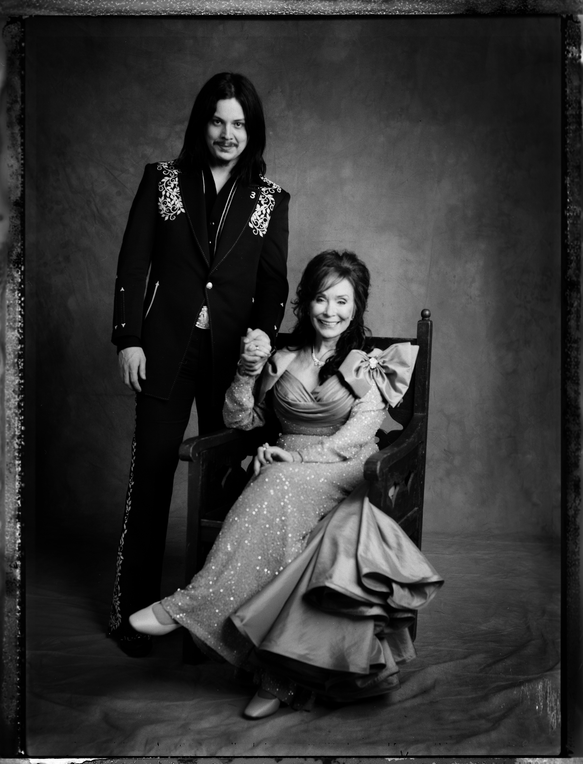 Jack White and Loretta Lynn, 2005.