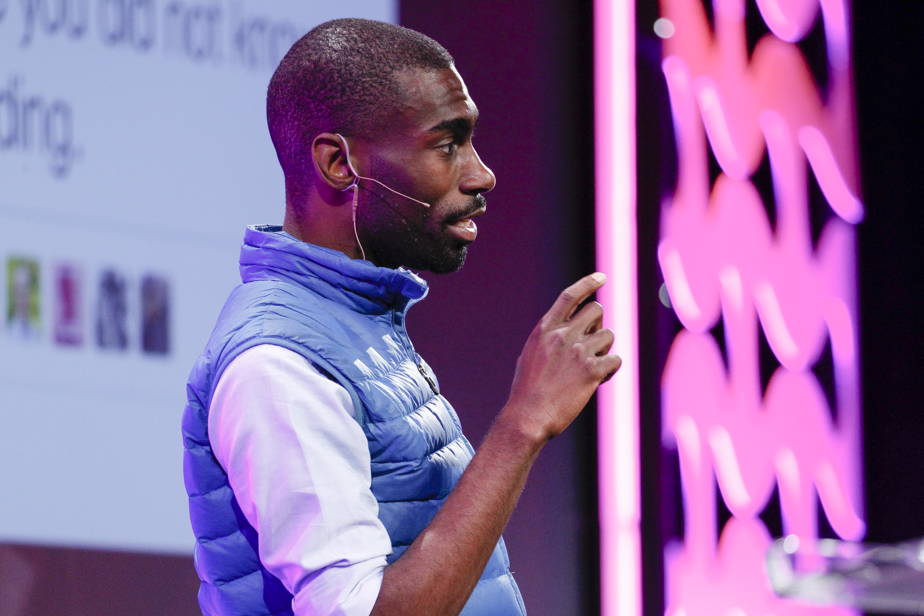 DeRay Mckesson speaks at the Nov. 2015 GLAAD Gala in San Francisco.