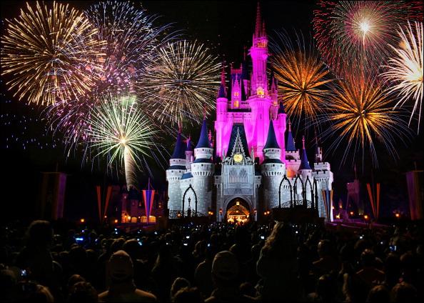 Cinderella's castle at Walt Disney World's Magic Kingdom