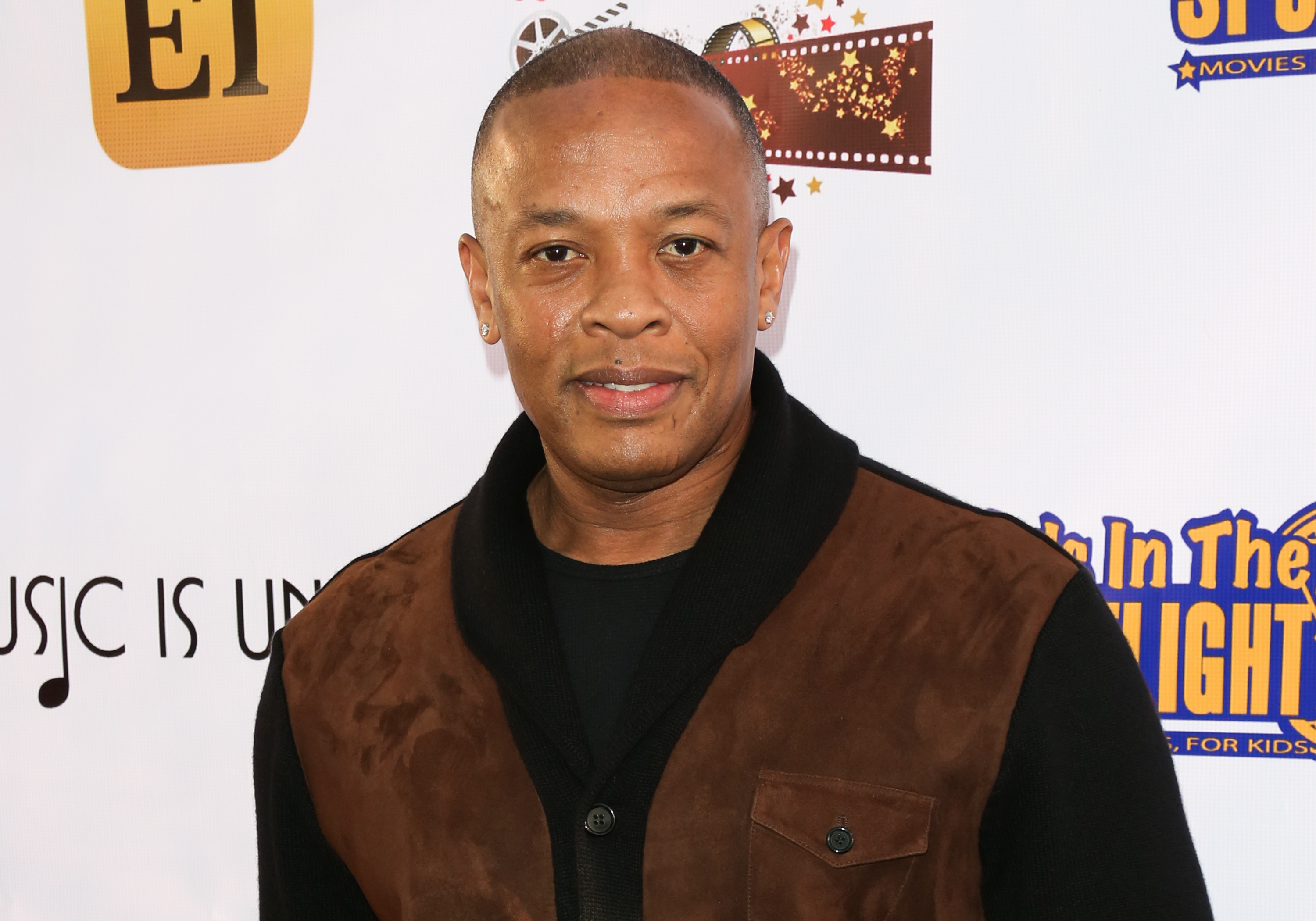 Rapper / Producer Dr. Dre attends the Kids In The Spotlight's Movies By Kids, For Kids Film Awards at Fox Studios on November 7, 2015 in Los Angeles, California.