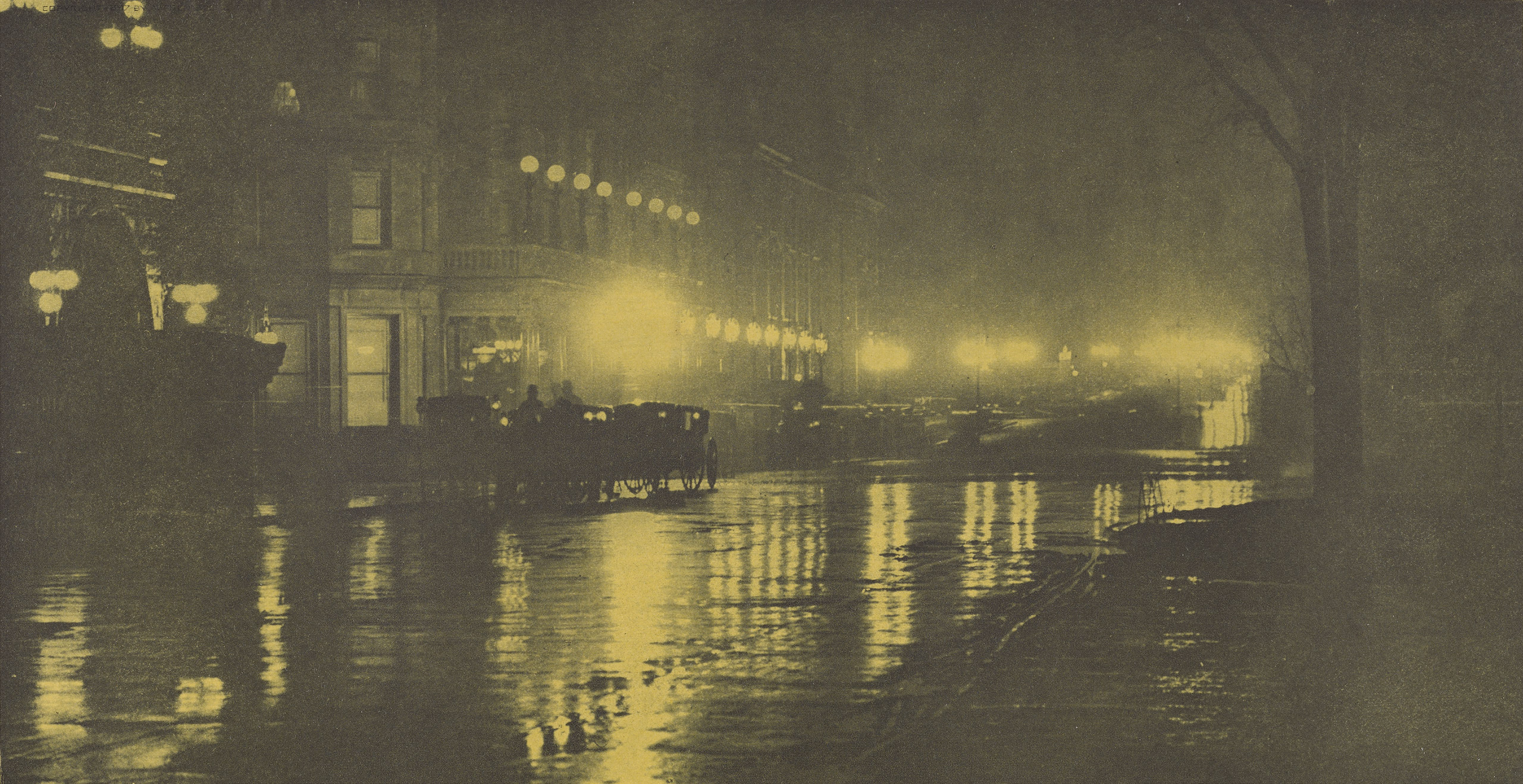 The Glow of Night - New York, 1897The J. Paul Getty Museum, Los Angeles
