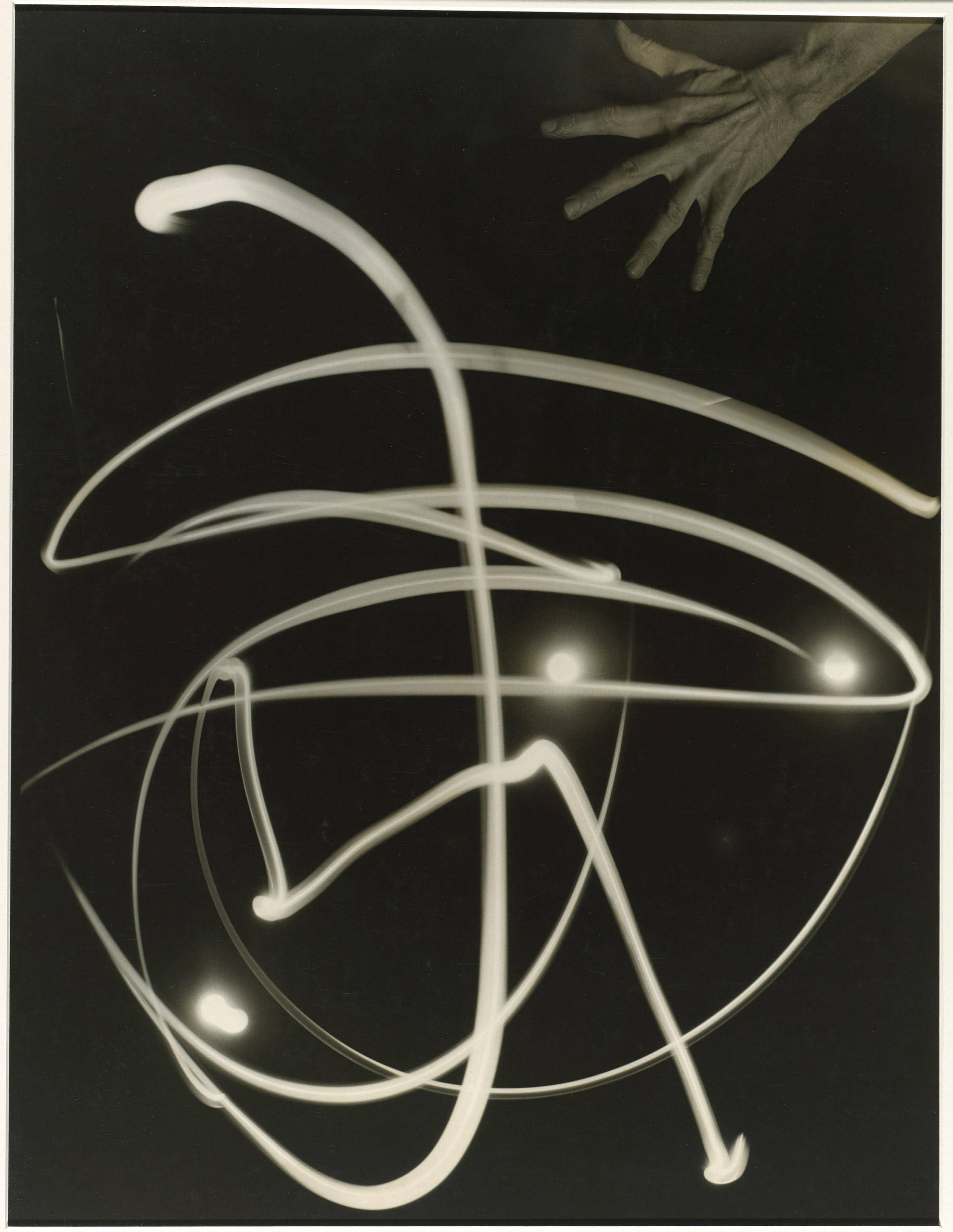 Pure Energy and Neurotic Man, 1940 - 1941                     Reproduced courtesy of the Barbara and Willard Morgan Photographs                     and Papers, UCLA Department of Special Collections / The J. Paul Getty Museum, Los Angeles