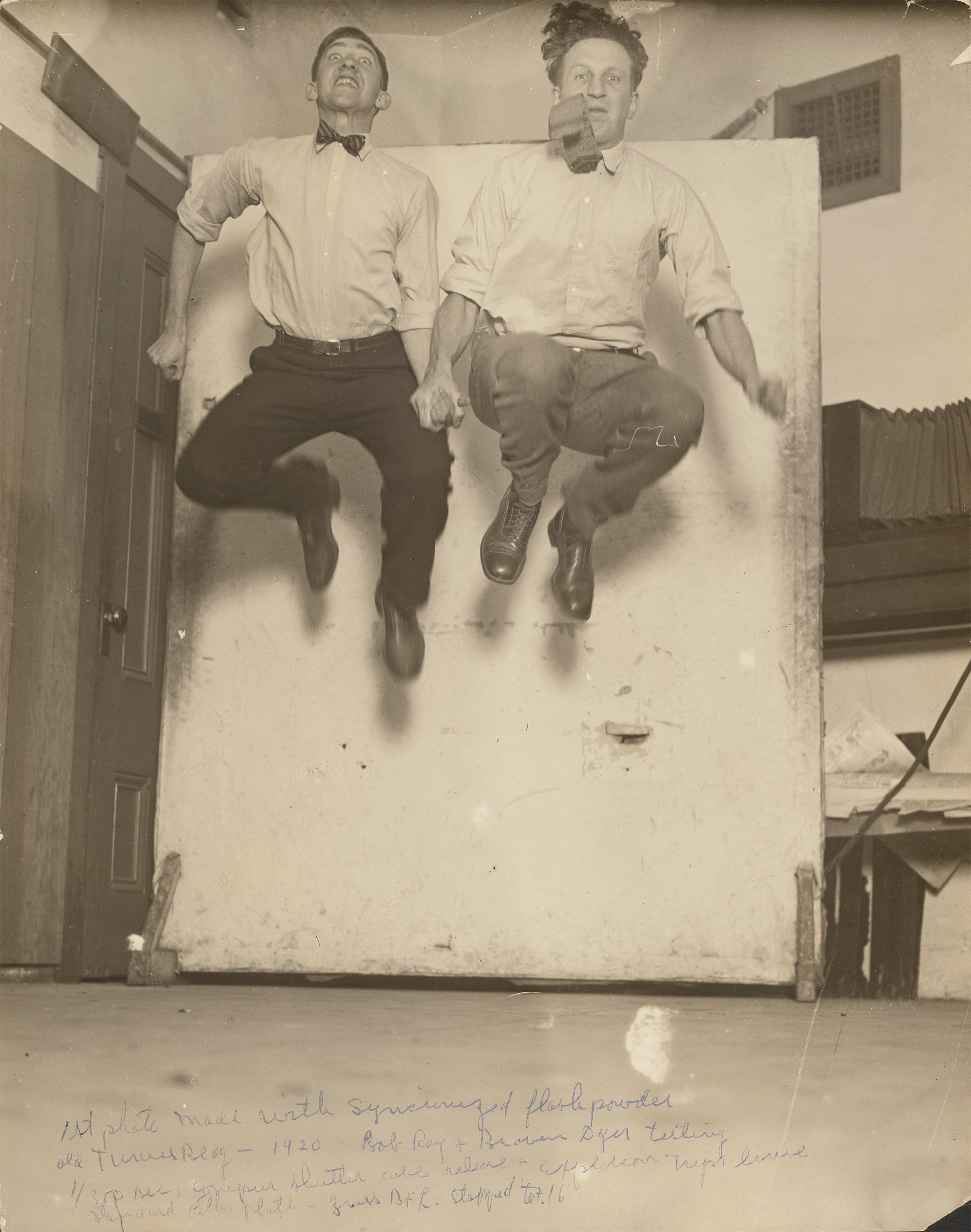 First Synchronized Powder Flash, 1920The Watson Family Photo Collection / The J. Paul Getty Museum, Los Angeles